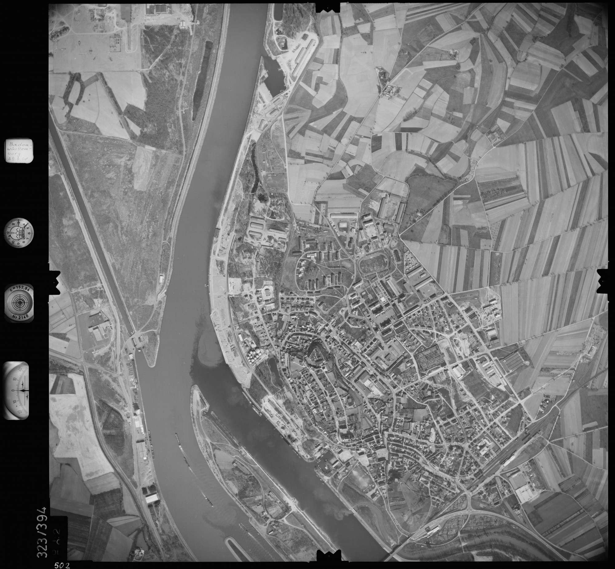 Luftbild: Film 47 Bildnr. 502, Bild 1
