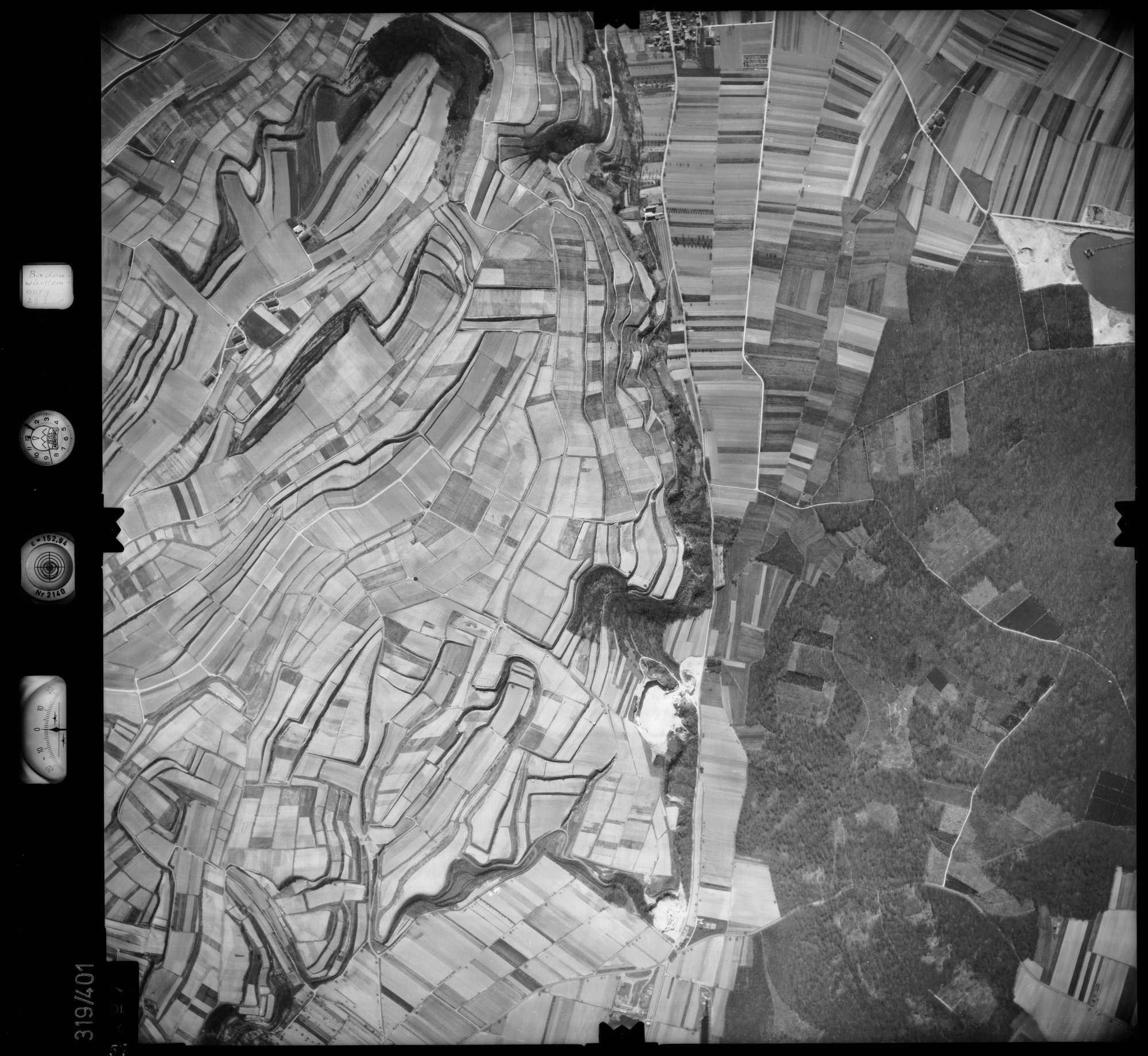 Luftbild: Film 54 Bildnr. 57, Bild 1