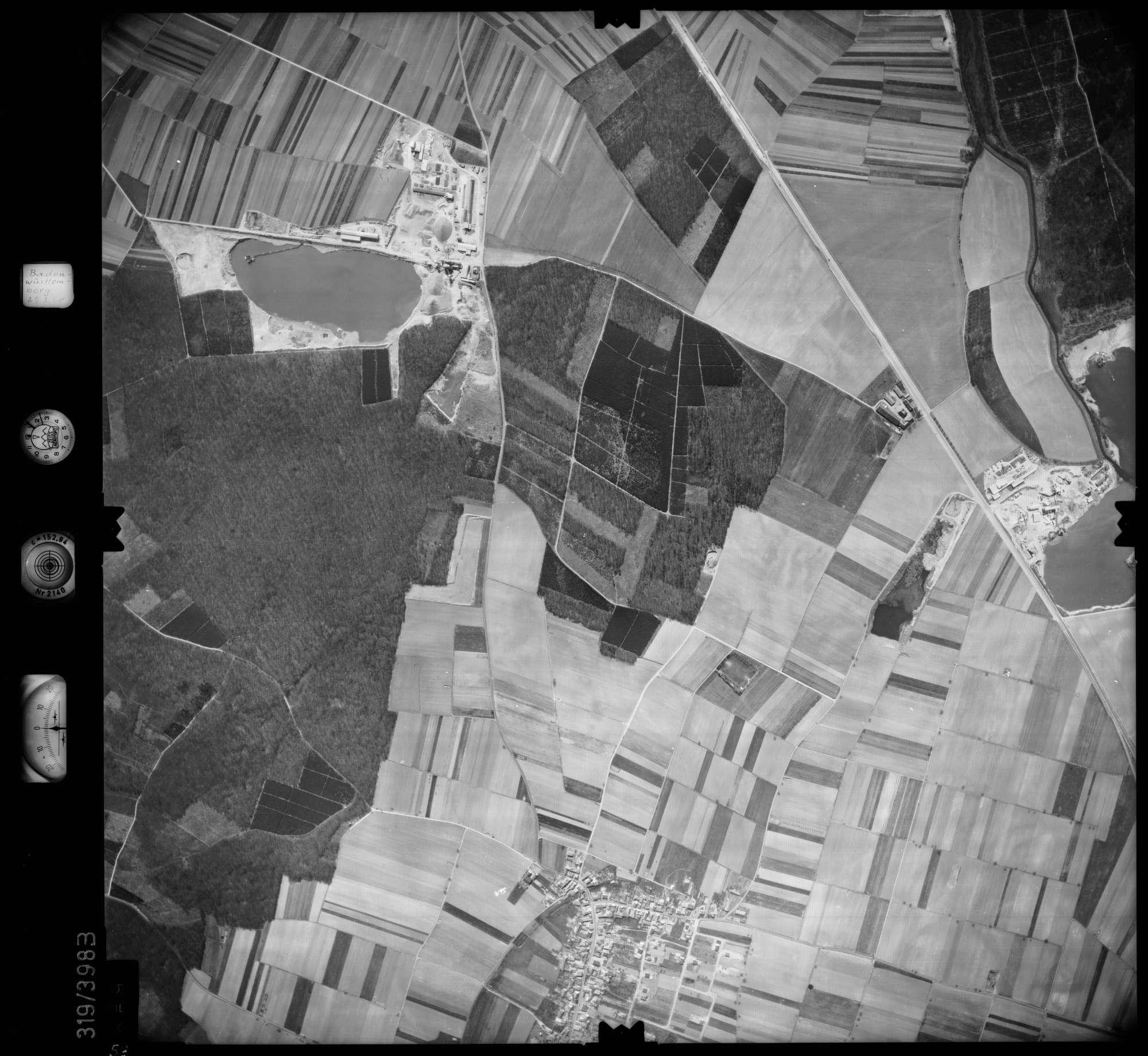 Luftbild: Film 54 Bildnr. 59, Bild 1