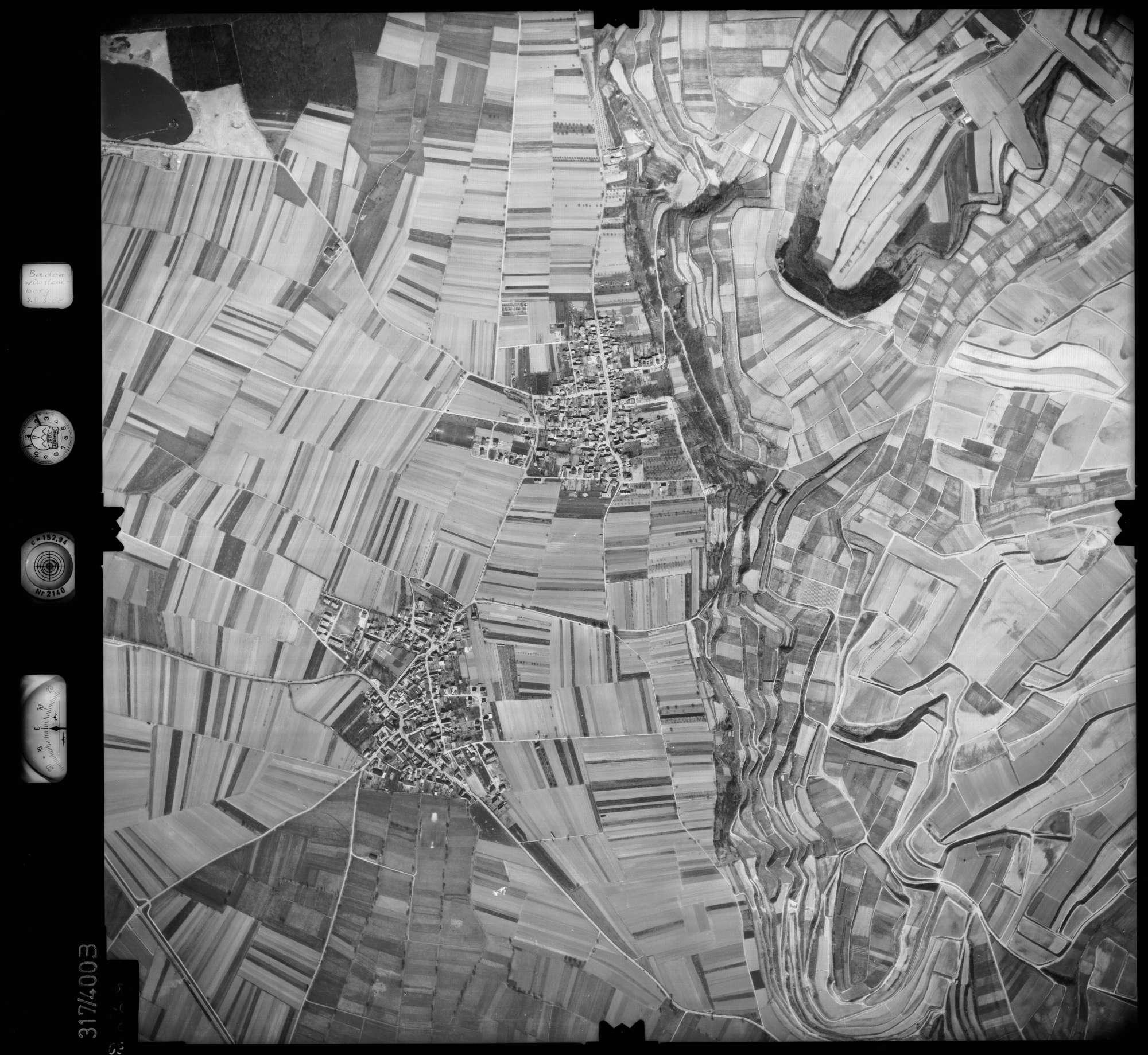 Luftbild: Film 54 Bildnr. 69, Bild 1