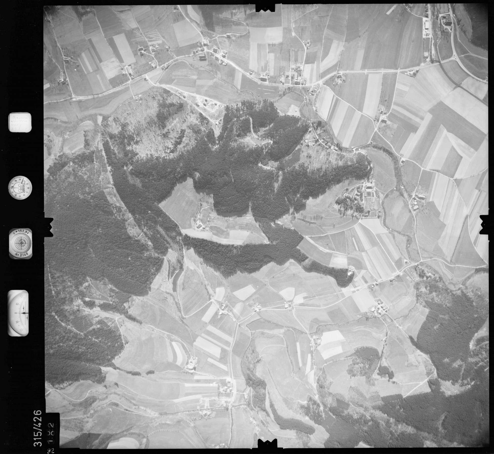 Luftbild: Film 54 Bildnr. 92, Bild 1