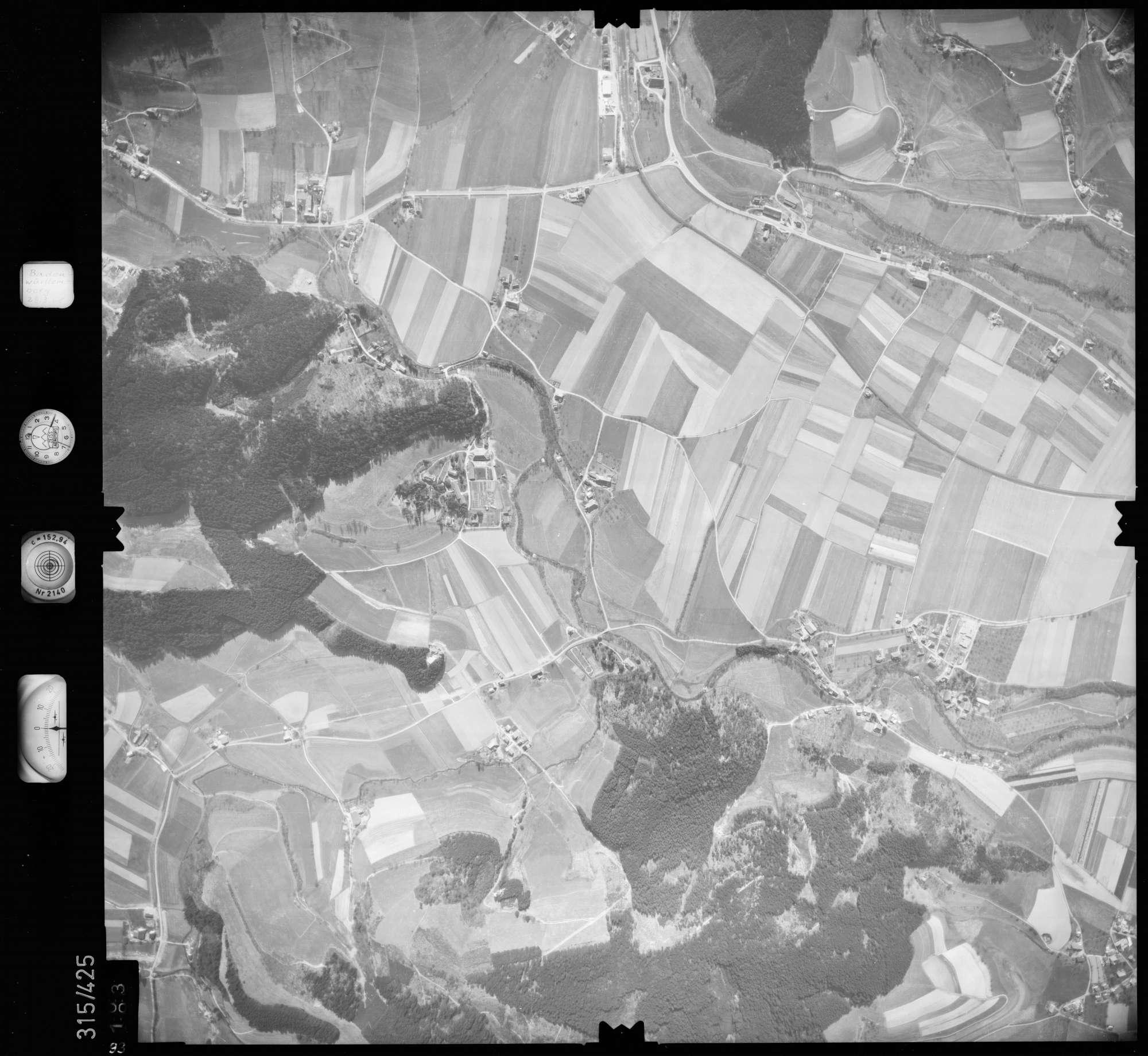 Luftbild: Film 54 Bildnr. 93, Bild 1