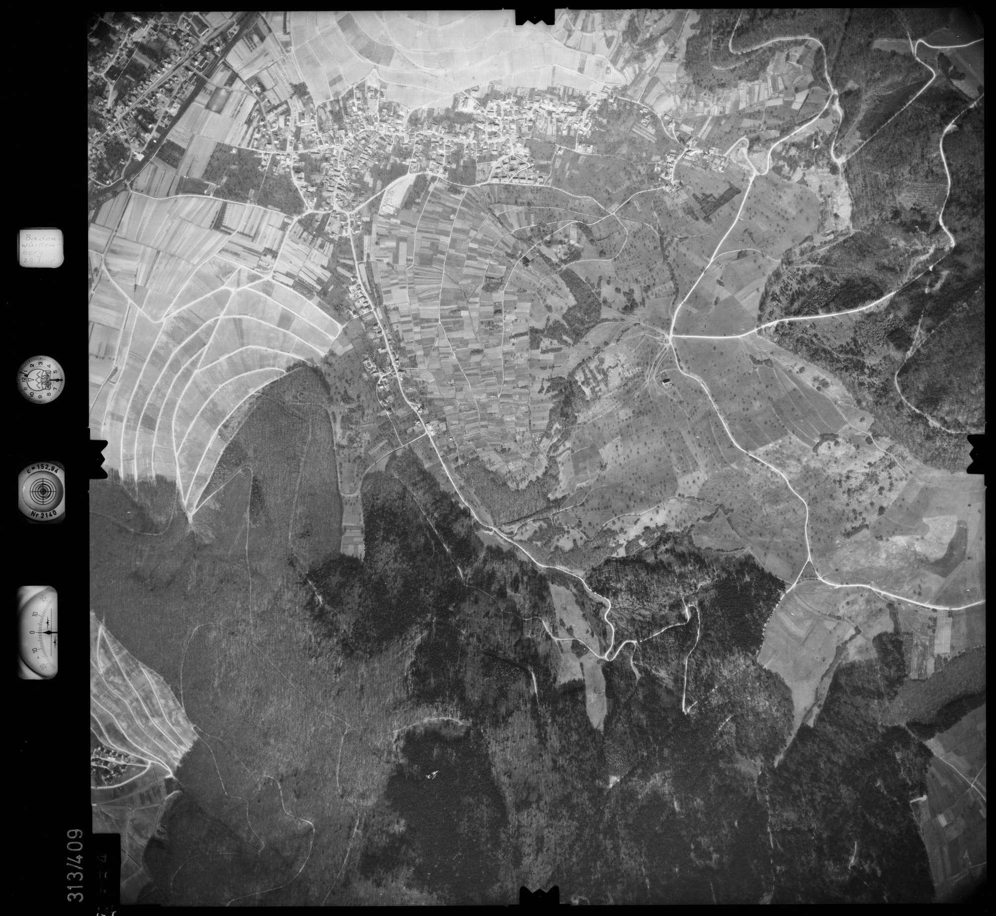 Luftbild: Film 54 Bildnr. 134, Bild 1
