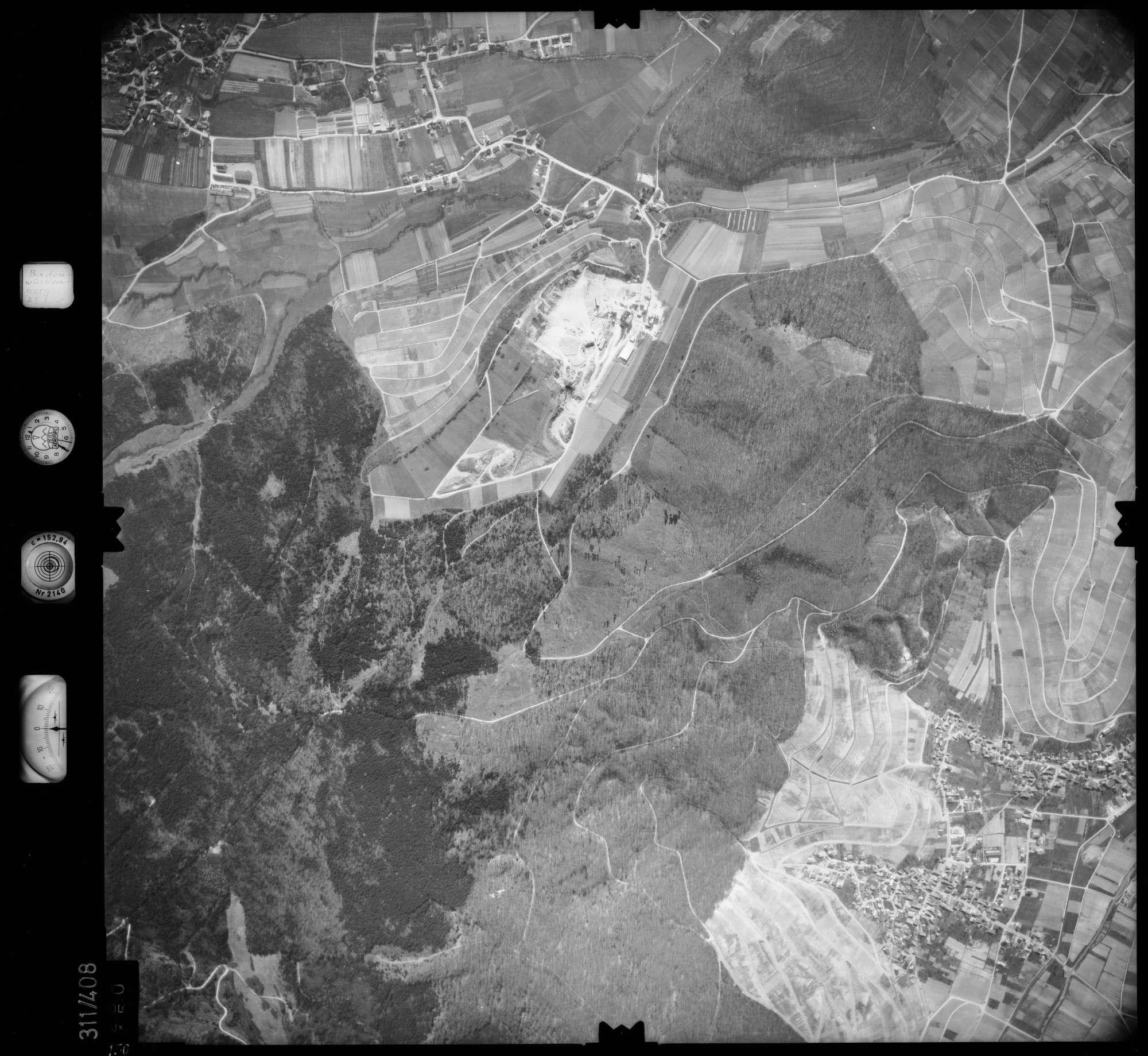 Luftbild: Film 54 Bildnr. 150, Bild 1