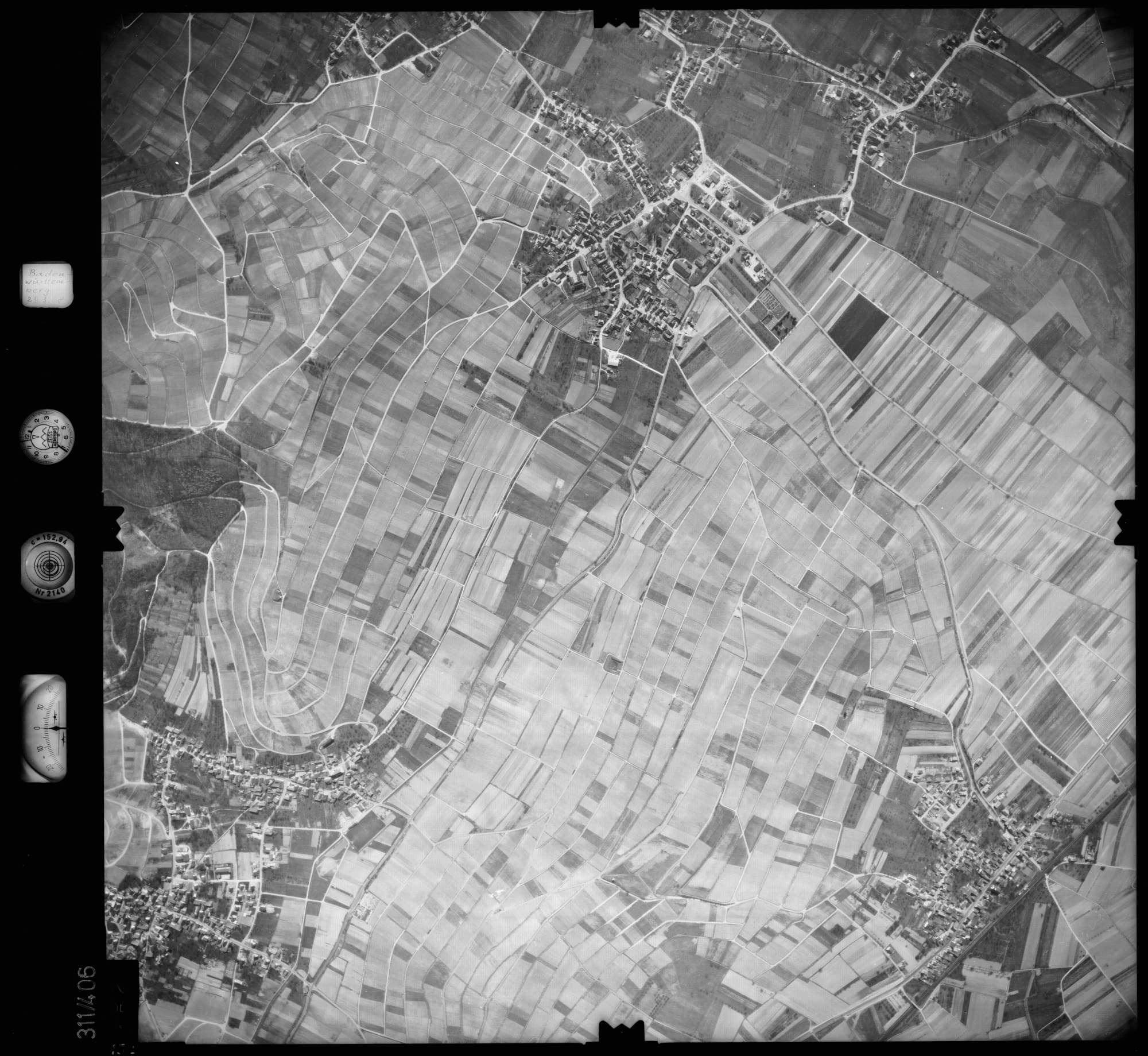 Luftbild: Film 54 Bildnr. 152, Bild 1