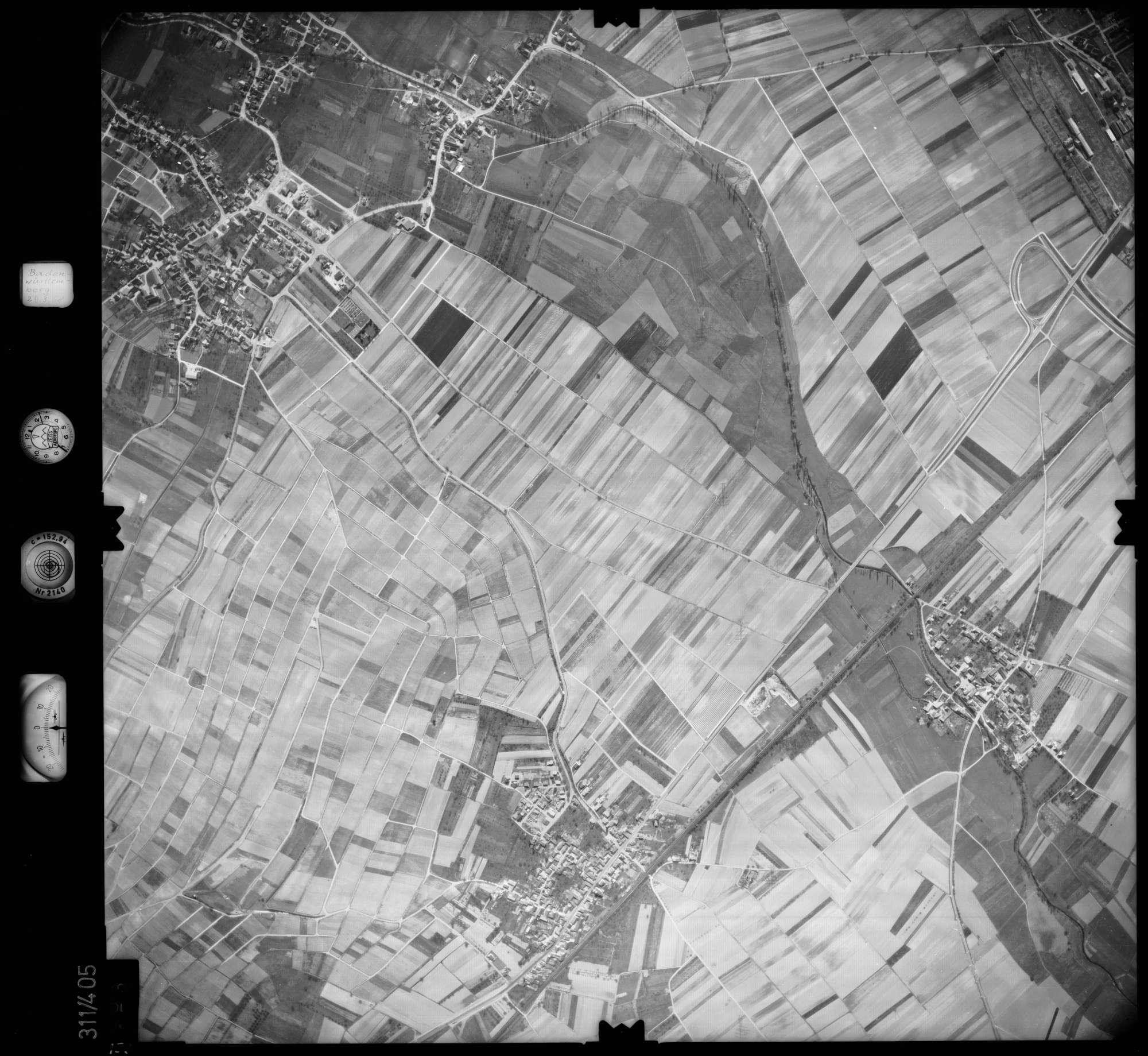 Luftbild: Film 54 Bildnr. 153, Bild 1