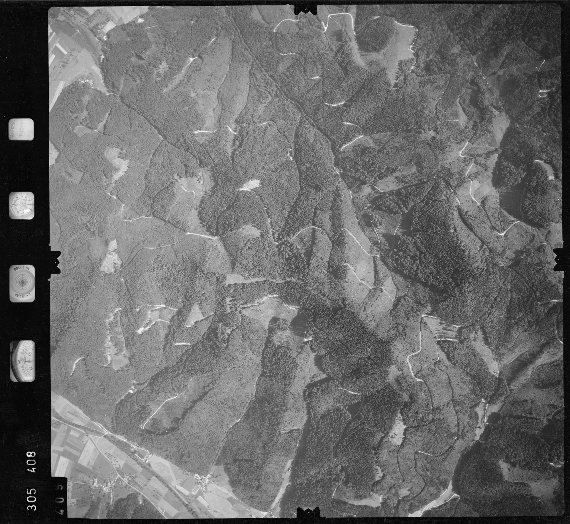 Luftbild: Film 60 Bildnr. 409, Bild 1