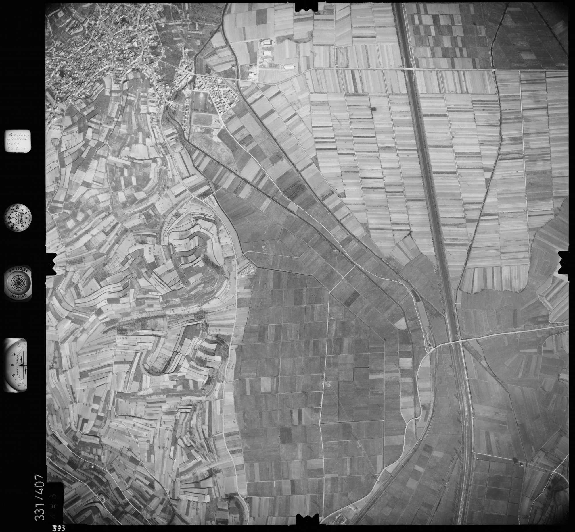 Luftbild: Film 47 Bildnr. 393, Bild 1