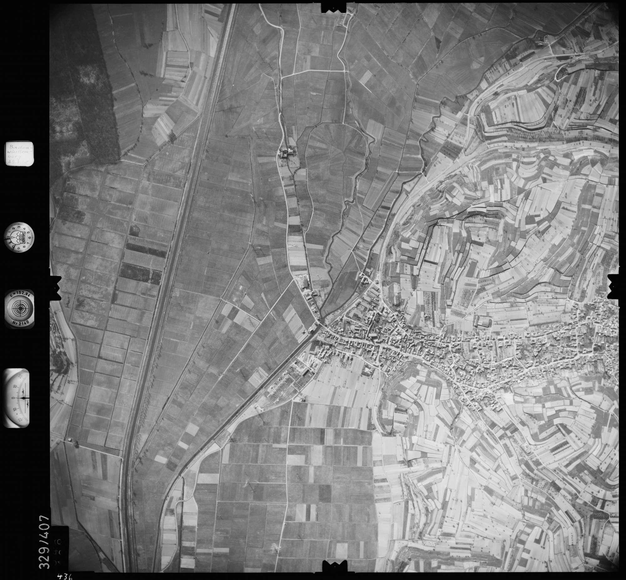 Luftbild: Film 47 Bildnr. 436, Bild 1