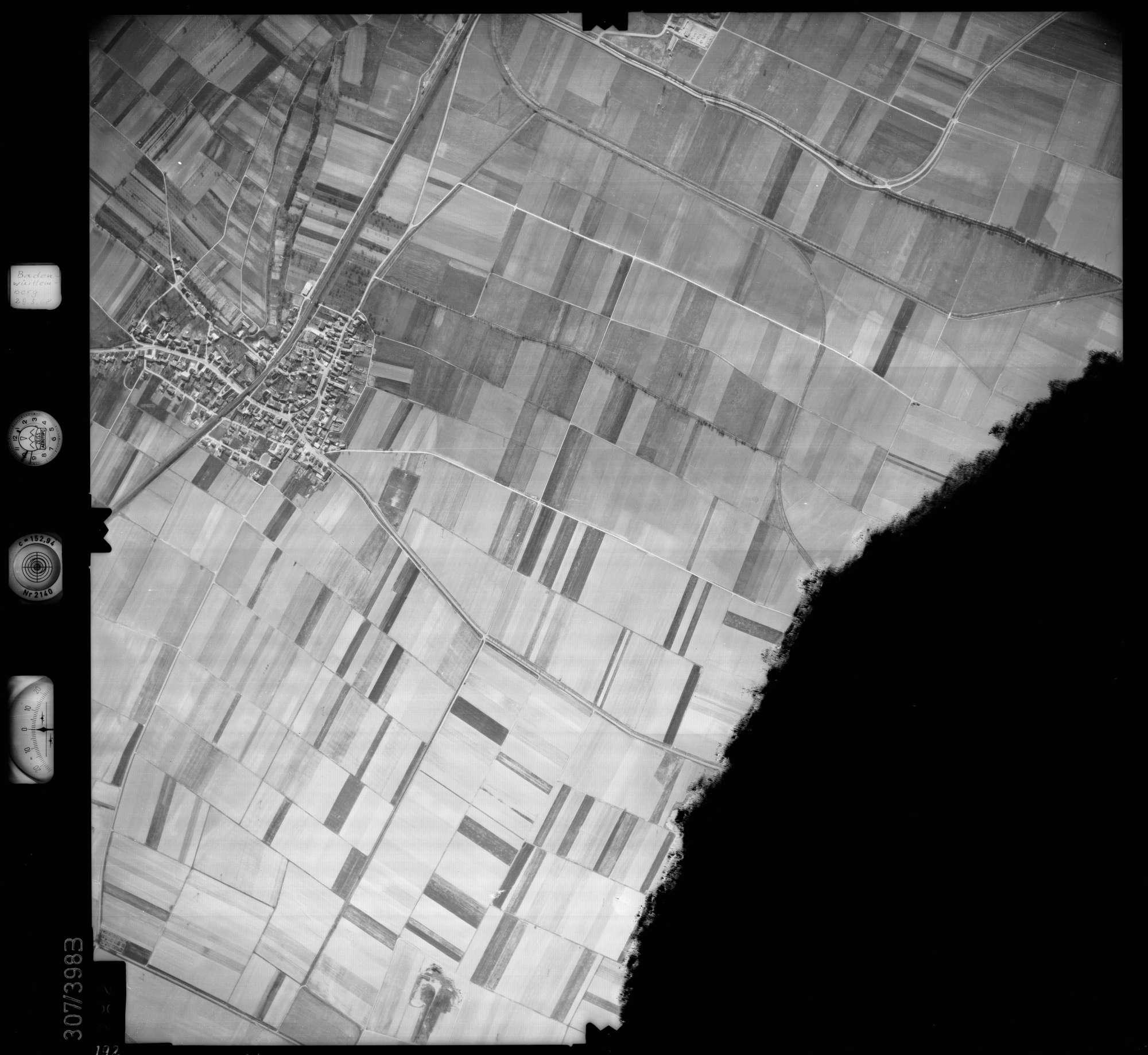 Luftbild: Film 54 Bildnr. 192, Bild 1