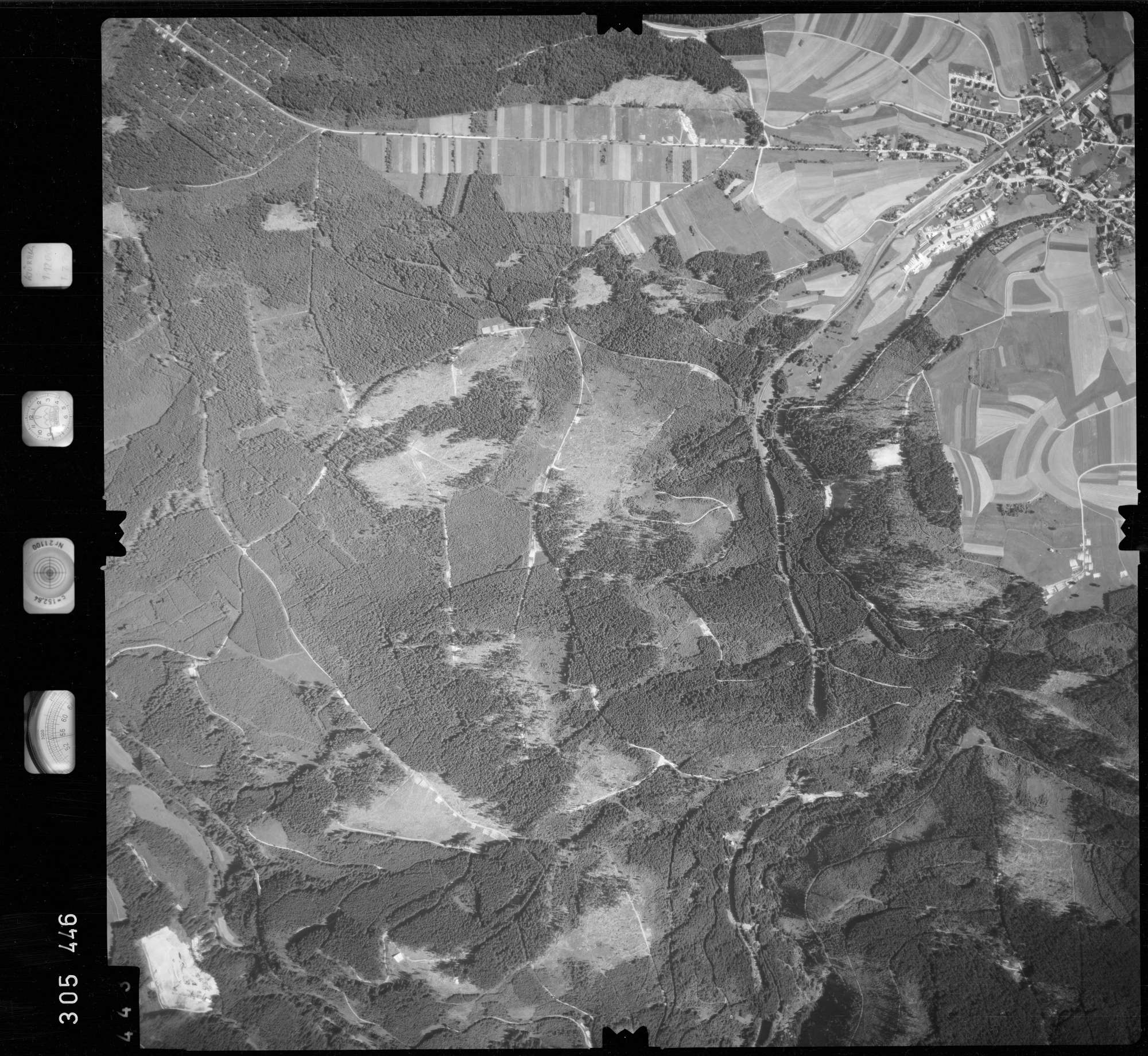 Luftbild: Film 60 Bildnr. 443, Bild 1