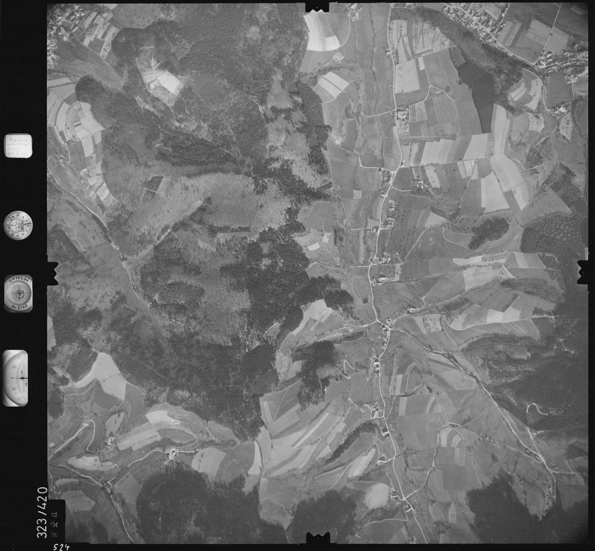 Luftbild: Film 47 Bildnr. 524, Bild 1