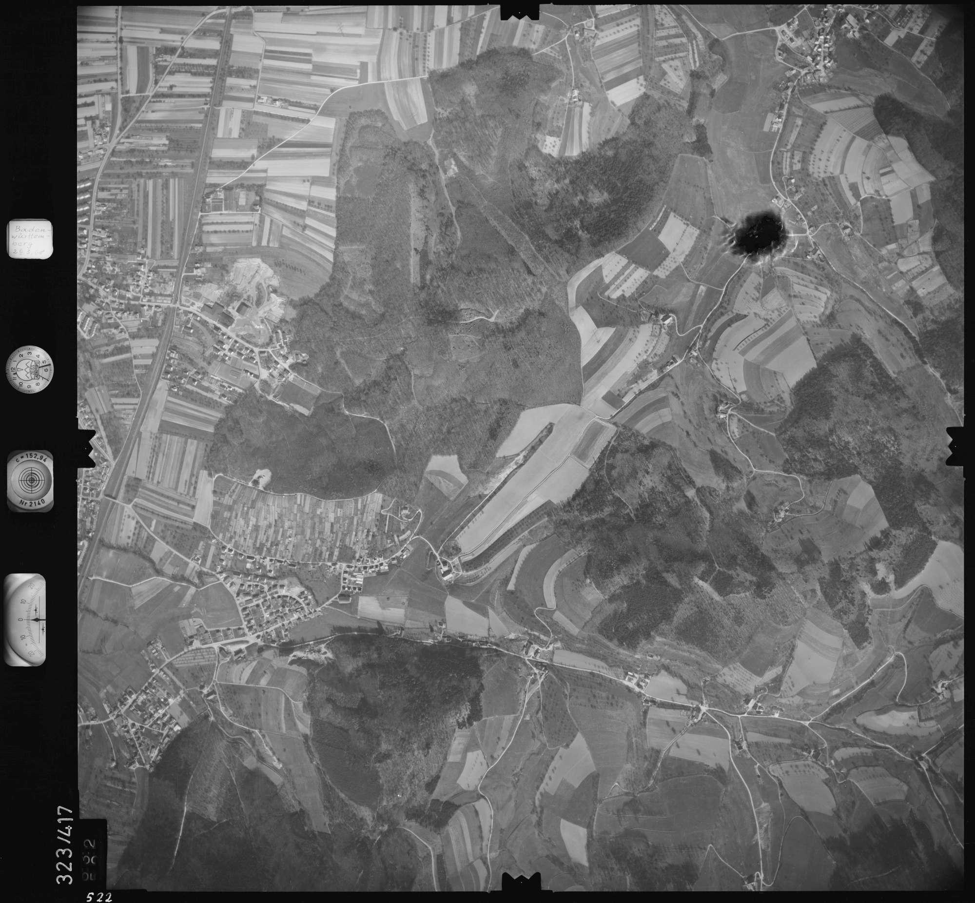 Luftbild: Film 47 Bildnr. 522, Bild 1