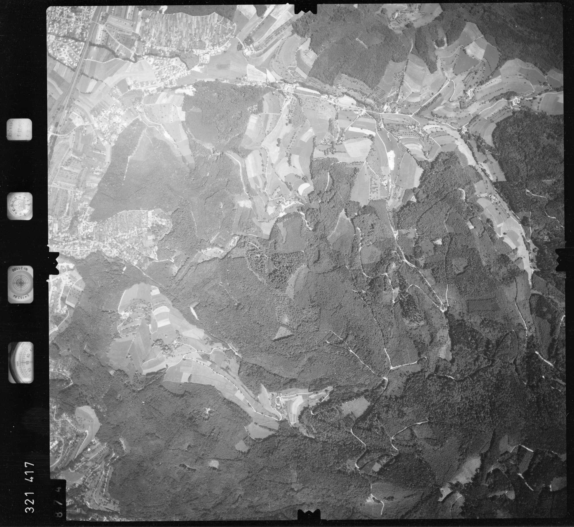 Luftbild: Film 55 Bildnr. 874, Bild 1