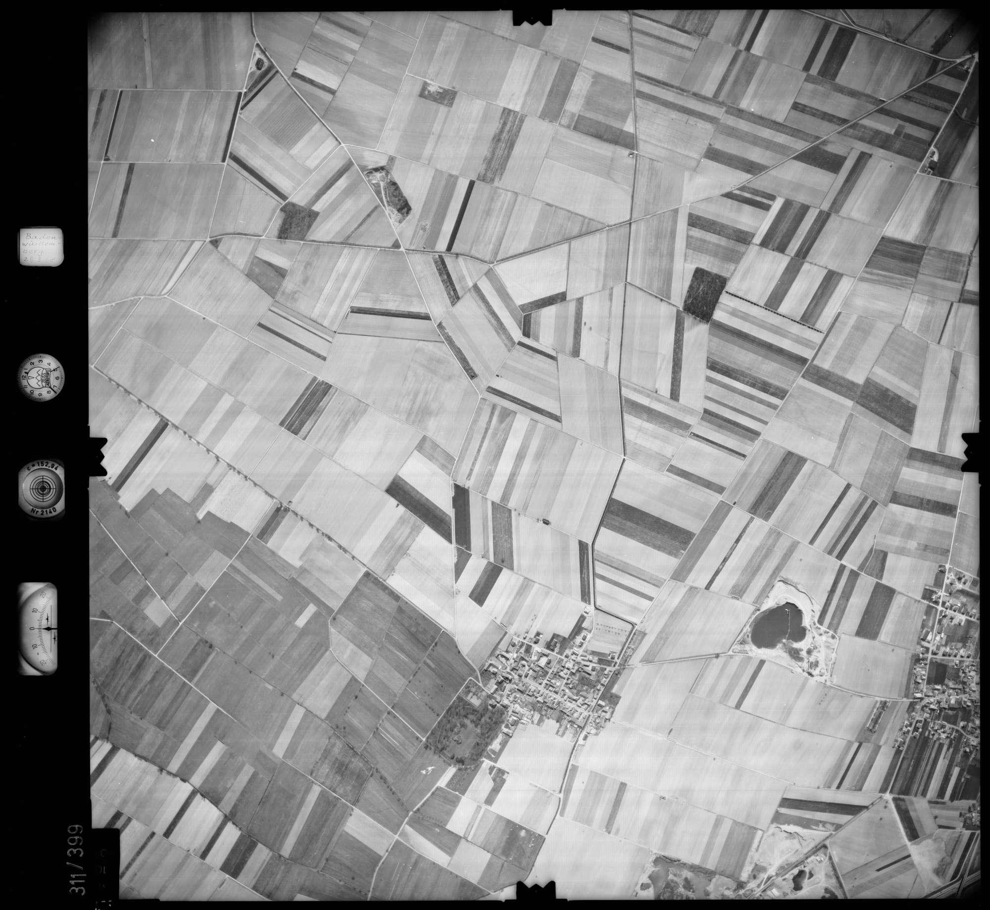 Luftbild: Film 54 Bildnr. 158, Bild 1