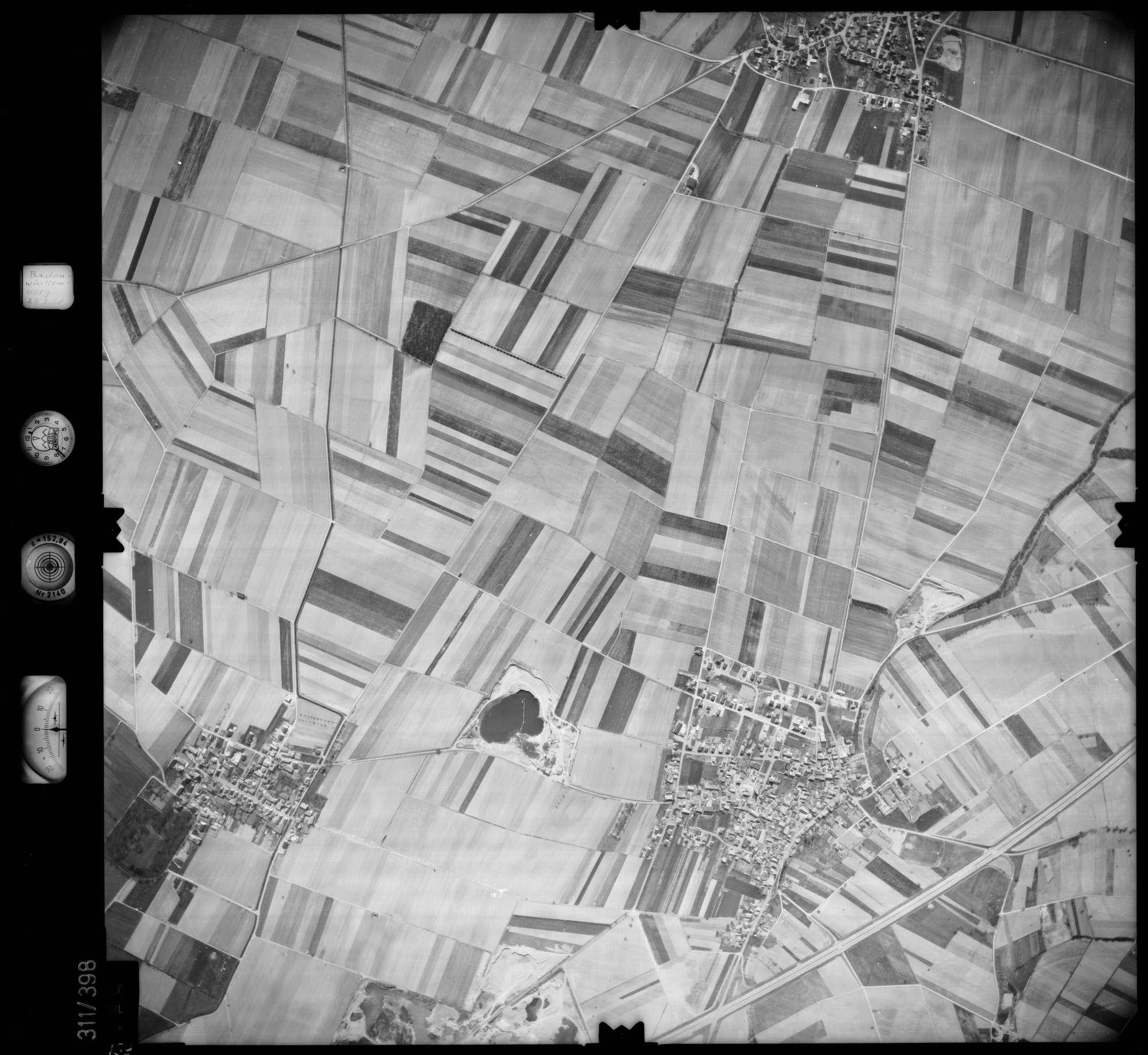 Luftbild: Film 54 Bildnr. 159, Bild 1