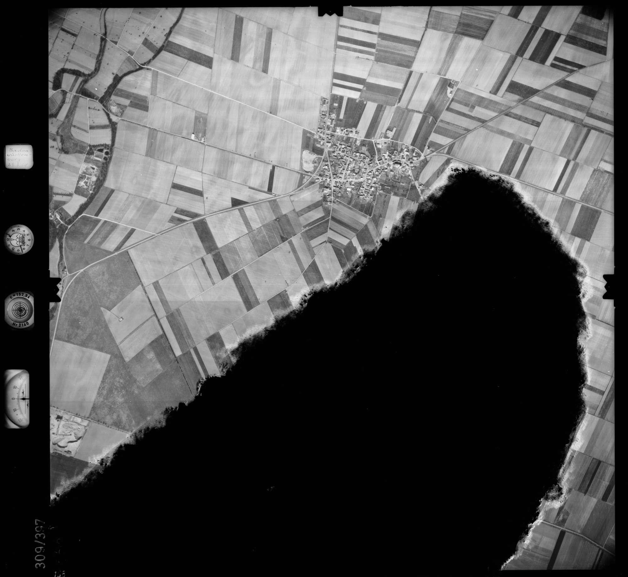Luftbild: Film 54 Bildnr. 168, Bild 1