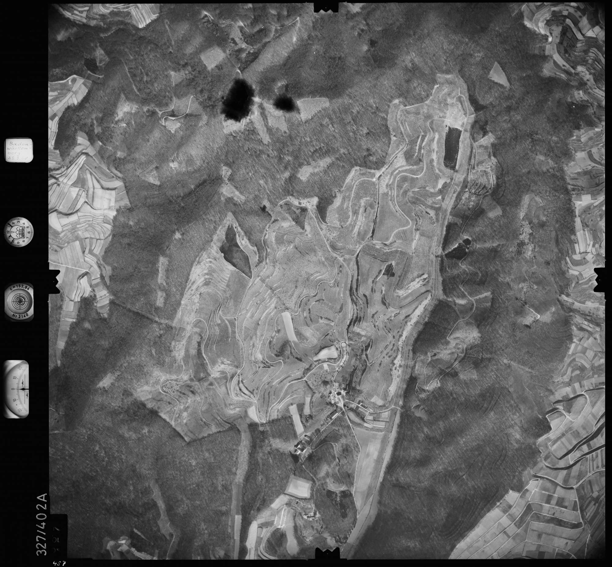 Luftbild: Film 47 Bildnr. 457, Bild 1