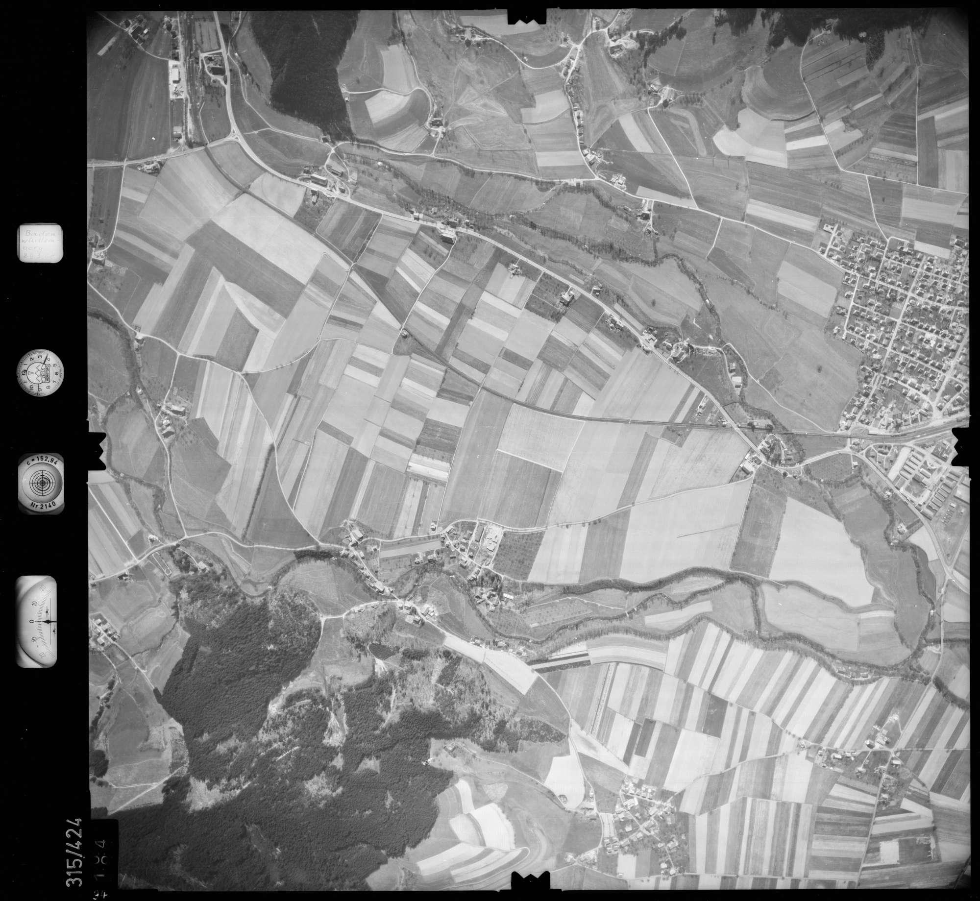 Luftbild: Film 54 Bildnr. 94, Bild 1