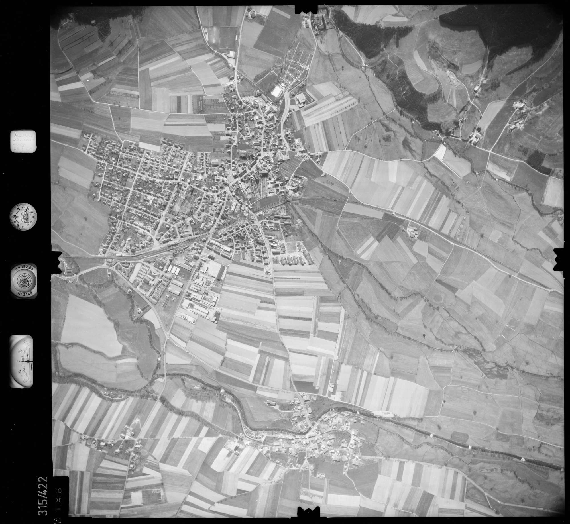 Luftbild: Film 54 Bildnr. 96, Bild 1