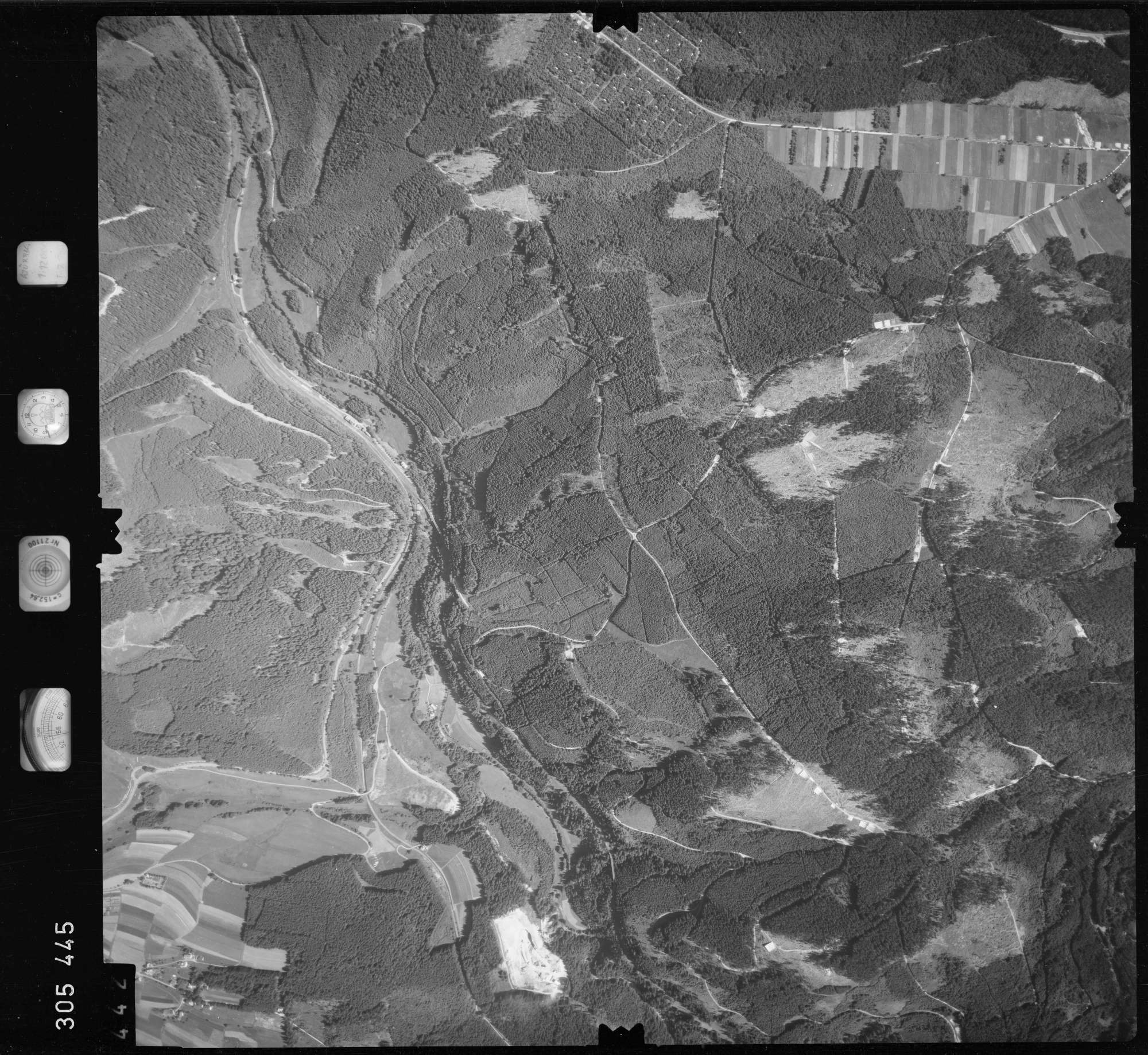 Luftbild: Film 60 Bildnr. 442, Bild 1