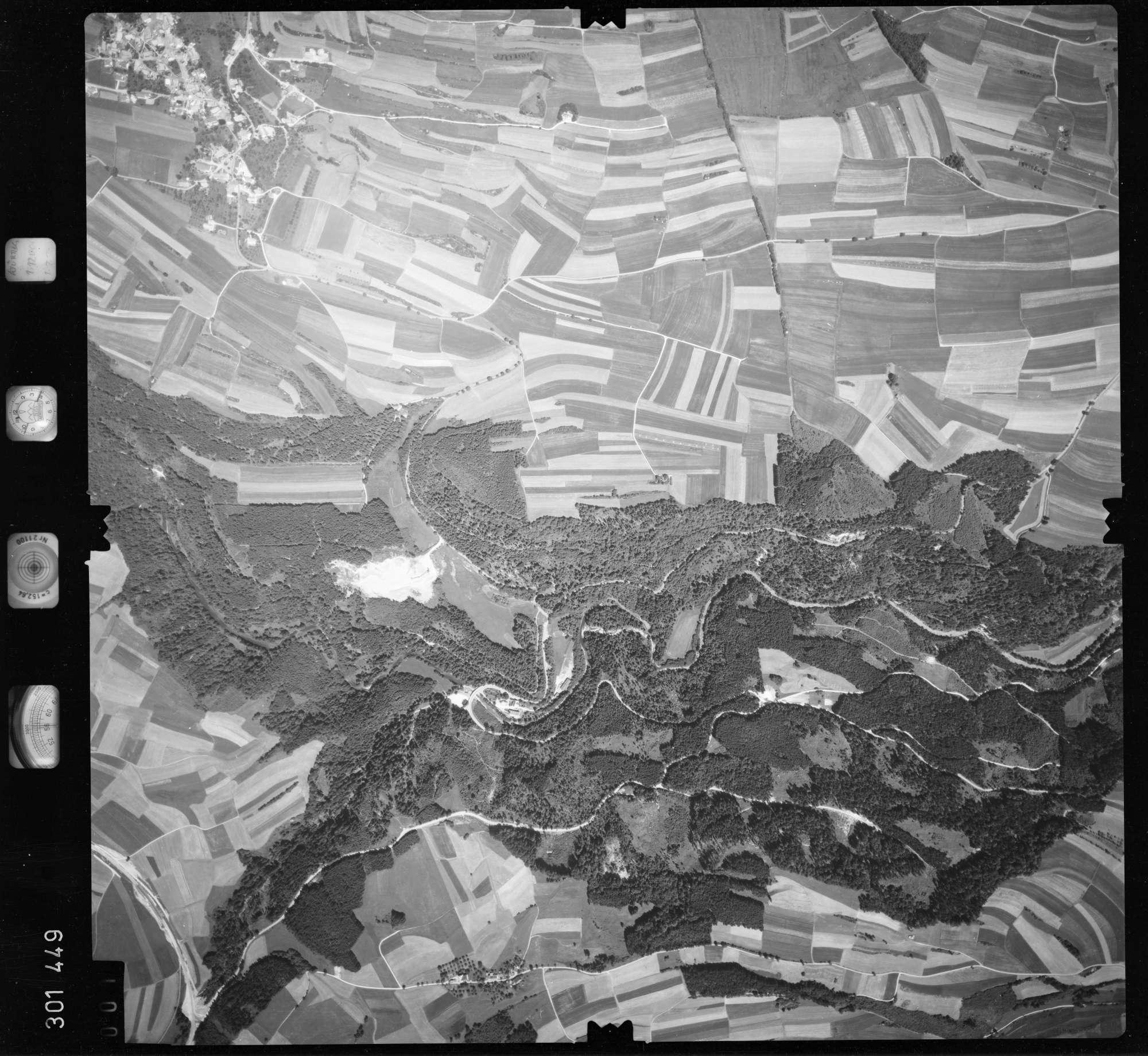 Luftbild: Film 55 Bildnr. 1, Bild 1