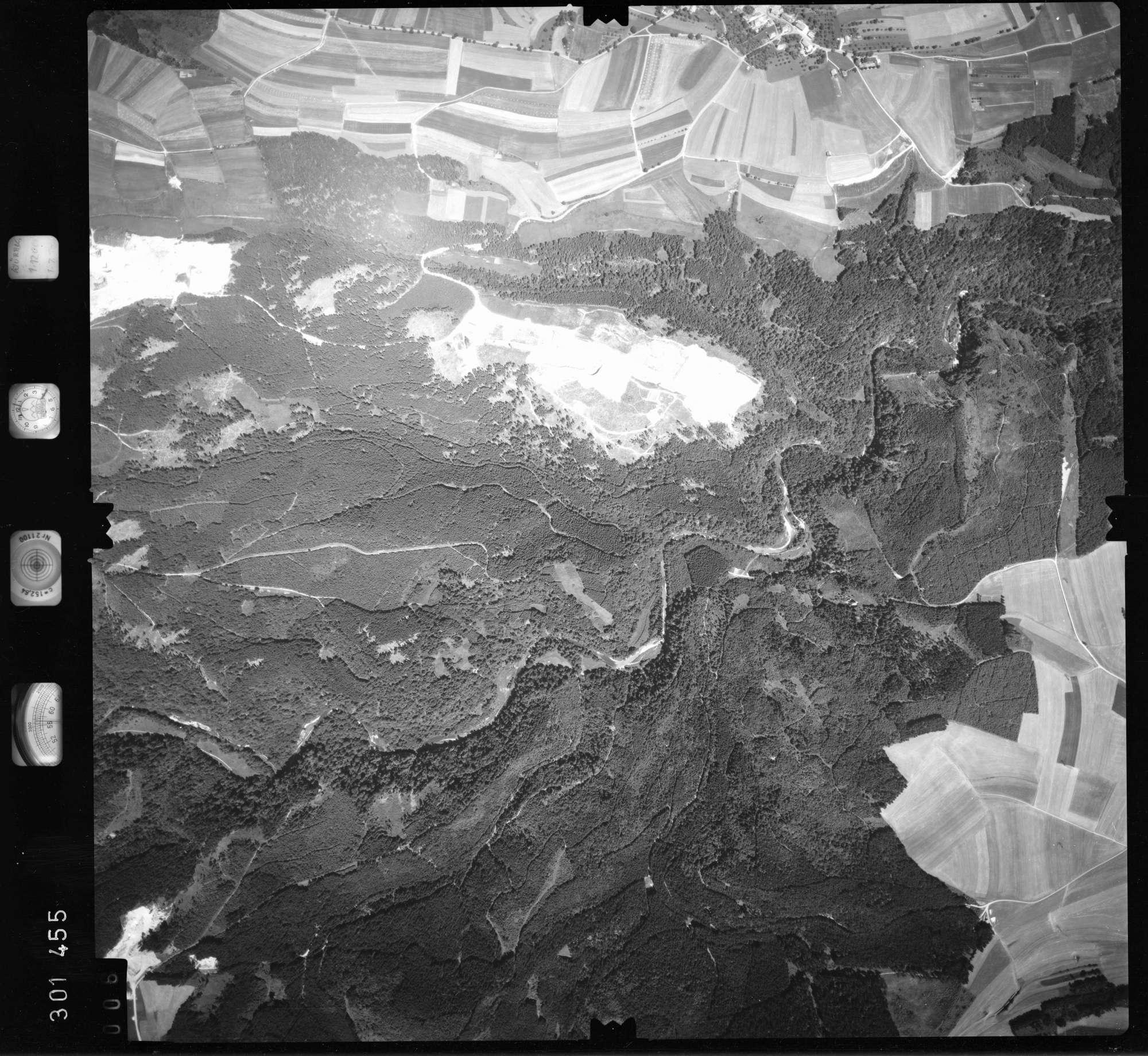 Luftbild: Film 55 Bildnr. 6, Bild 1