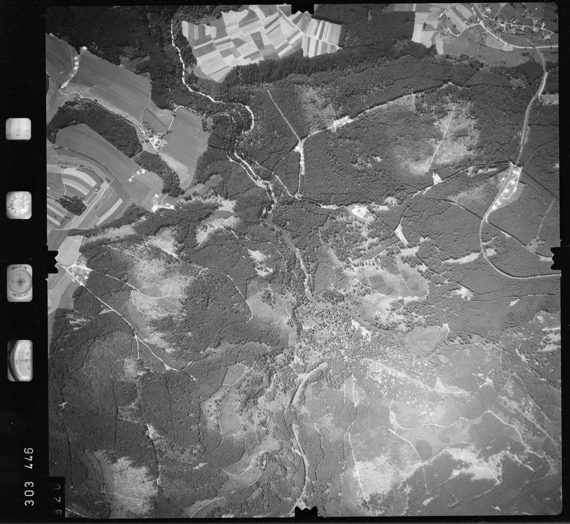 Luftbild: Film 55 Bildnr. 920, Bild 1