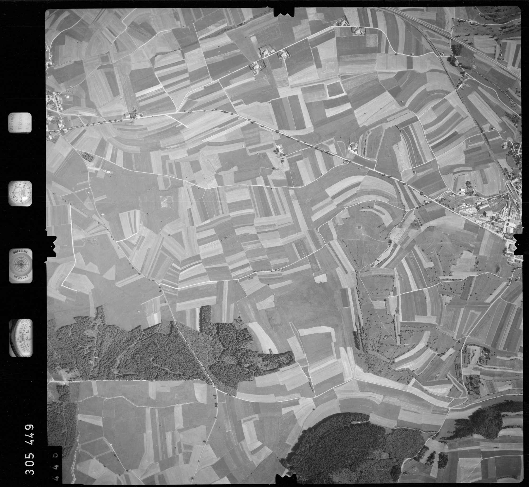 Luftbild: Film 60 Bildnr. 446, Bild 1