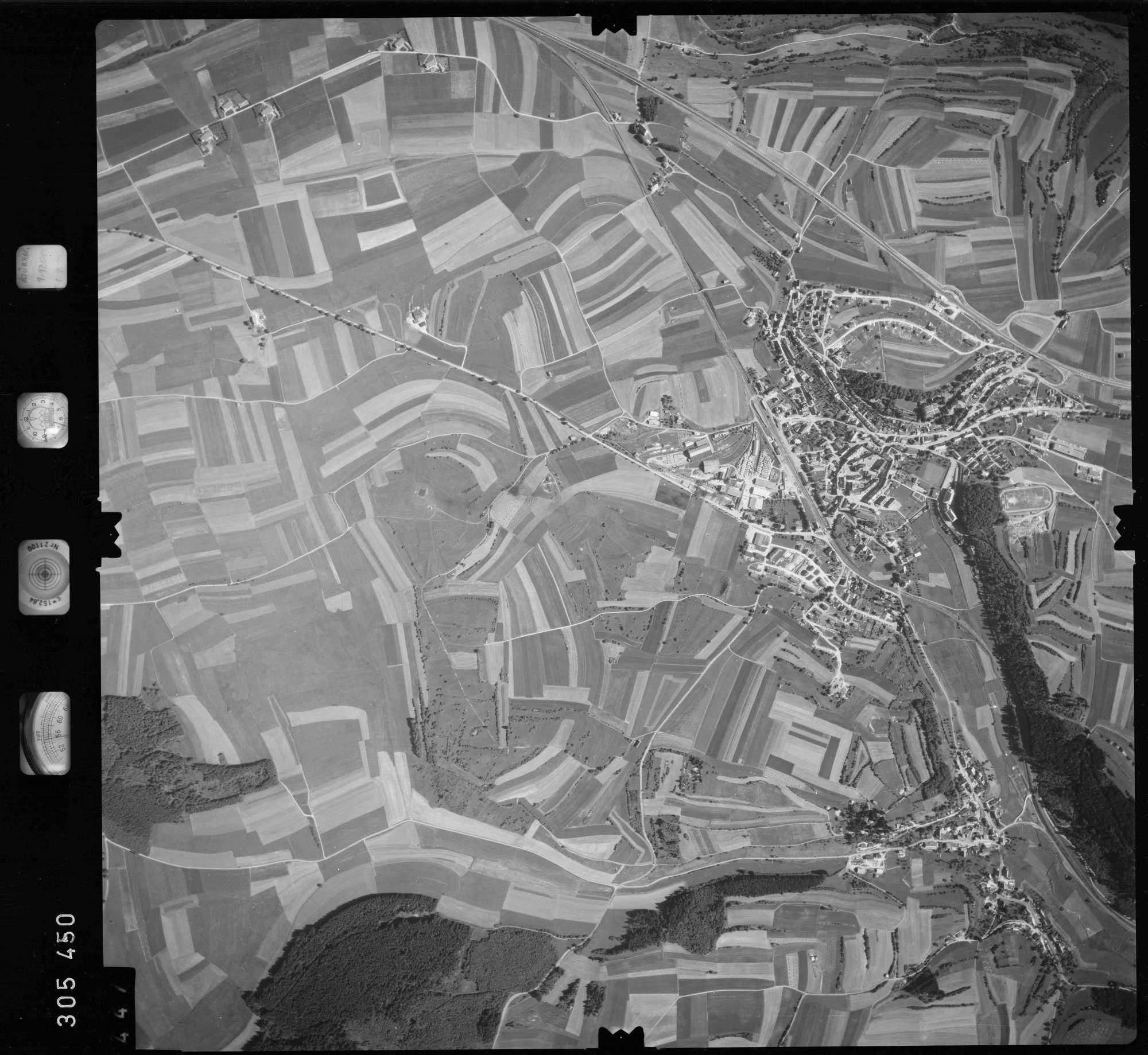 Luftbild: Film 60 Bildnr. 447, Bild 1