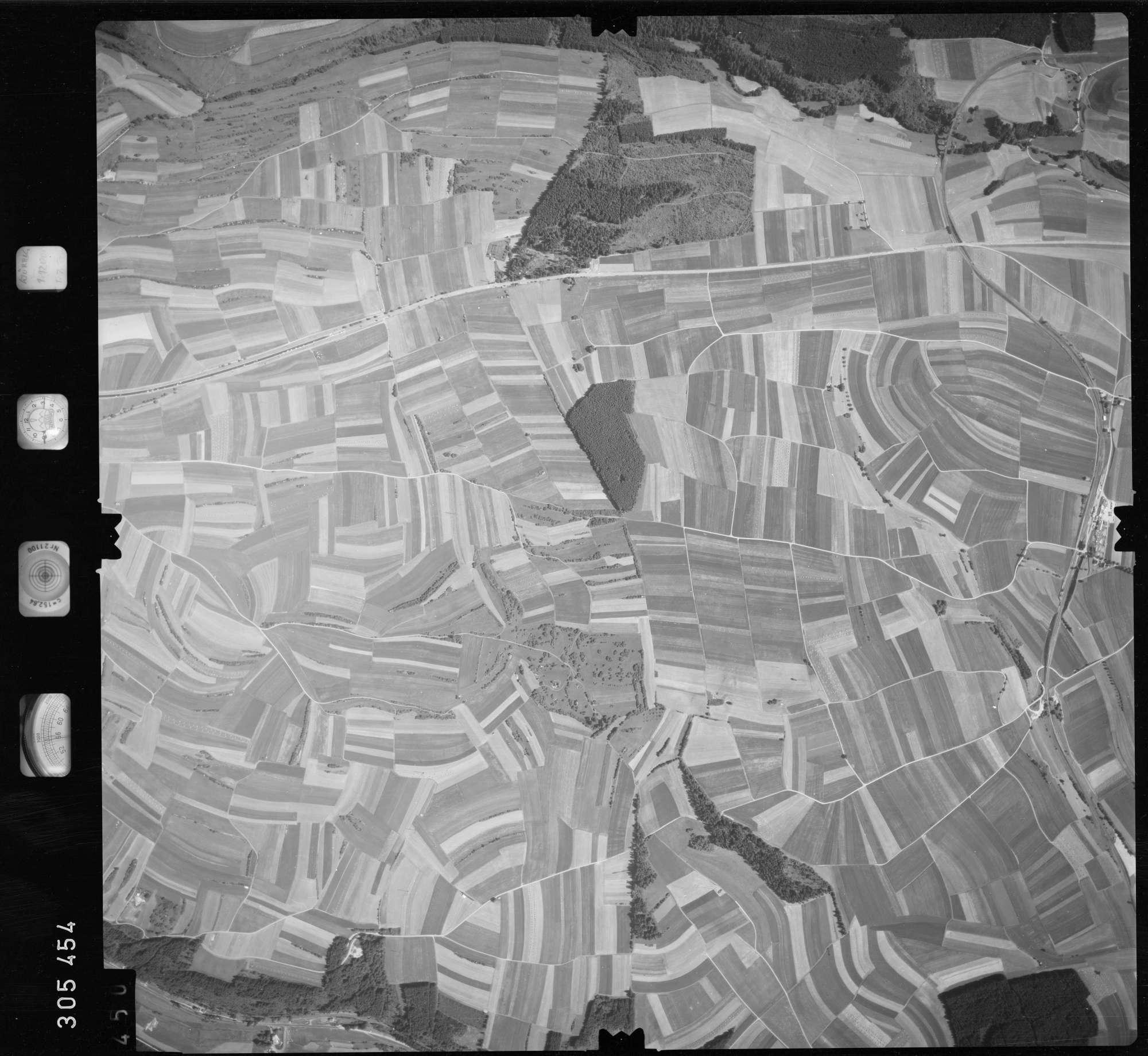 Luftbild: Film 60 Bildnr. 450, Bild 1