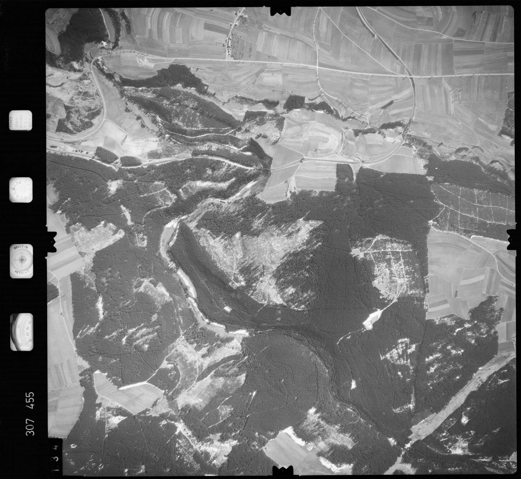 Luftbild: Film 61 Bildnr. 134, Bild 1