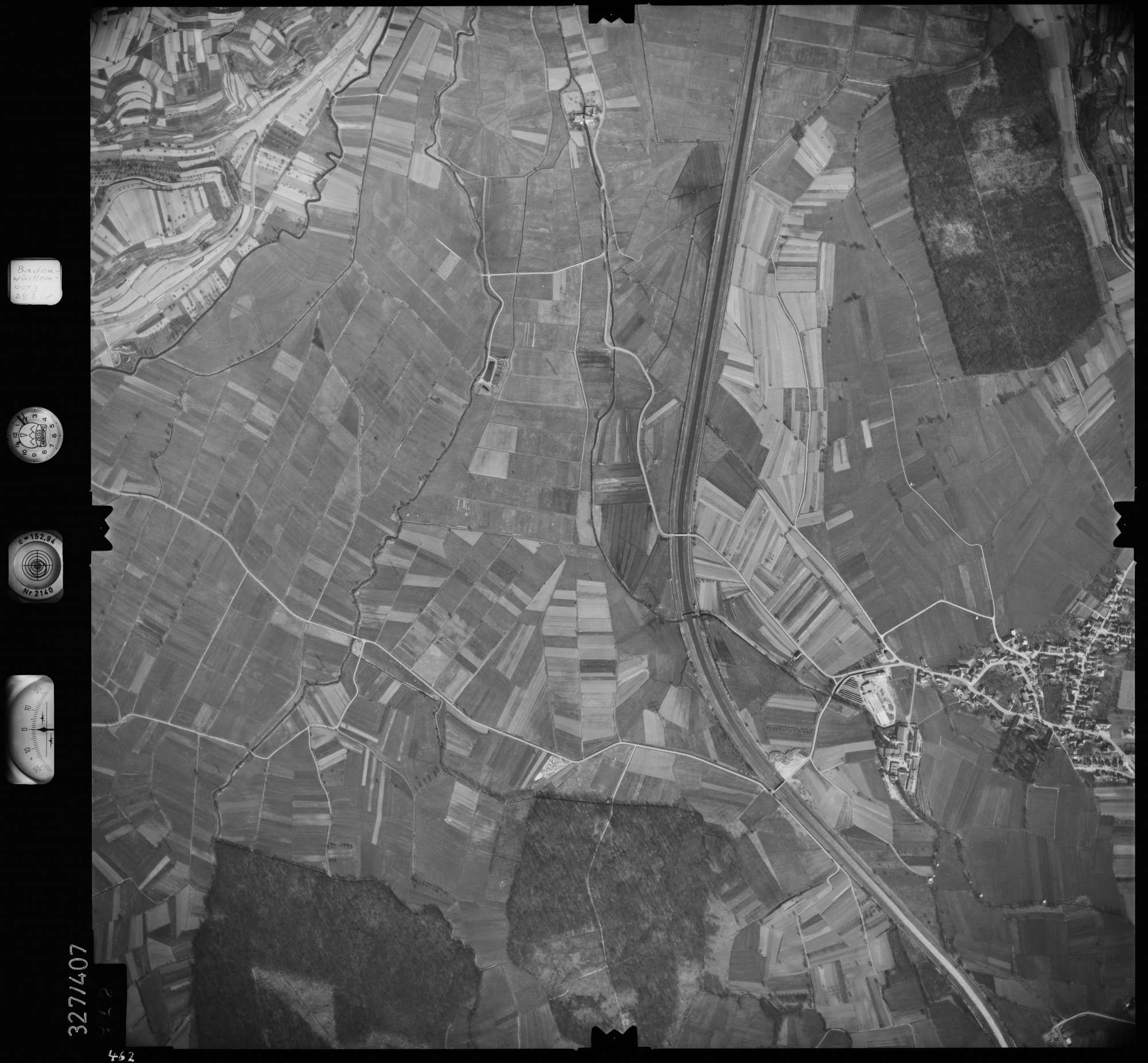 Luftbild: Film 47 Bildnr. 462, Bild 1