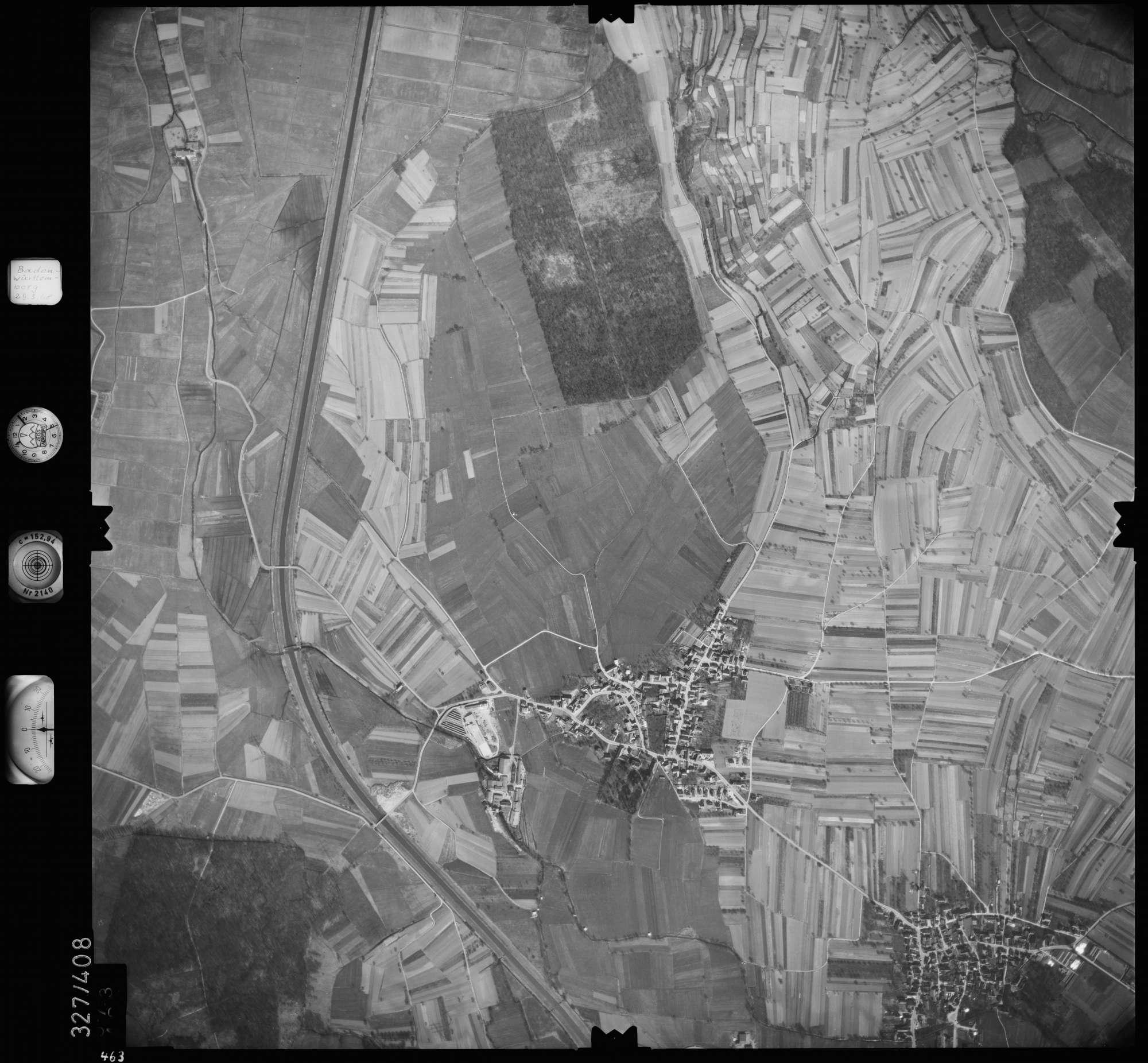 Luftbild: Film 47 Bildnr. 463, Bild 1