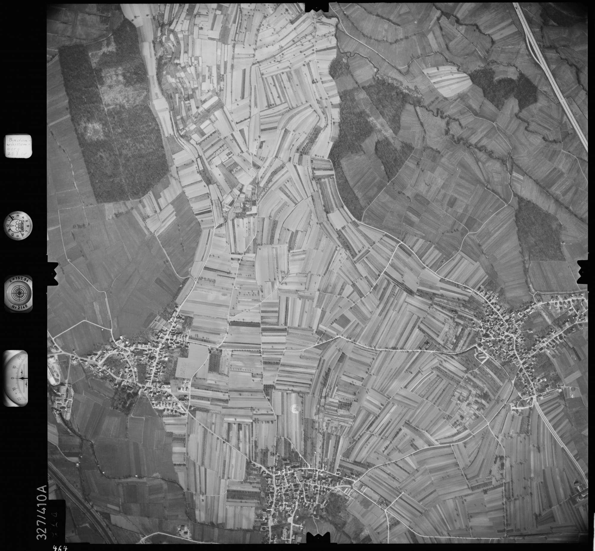 Luftbild: Film 47 Bildnr. 464, Bild 1