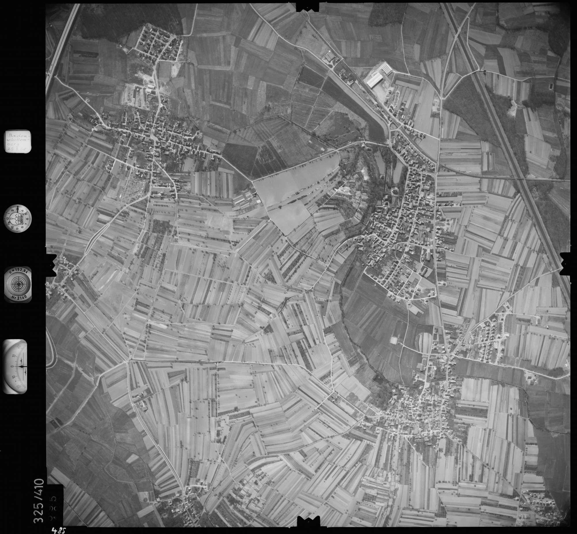Luftbild: Film 47 Bildnr. 485, Bild 1