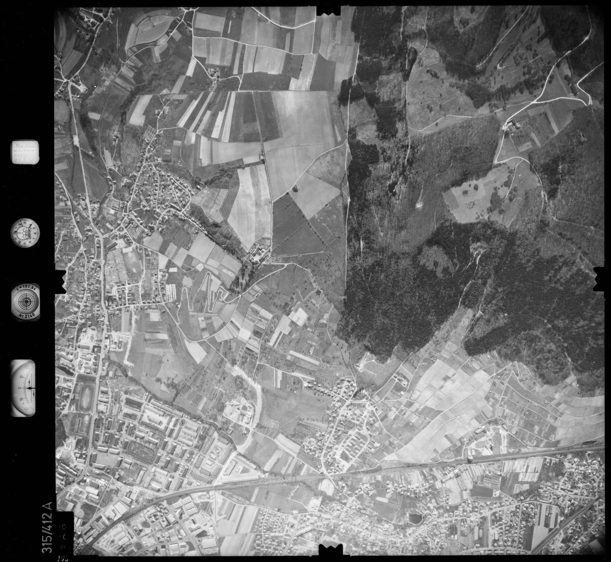 Luftbild: Film 54 Bildnr. 106, Bild 1