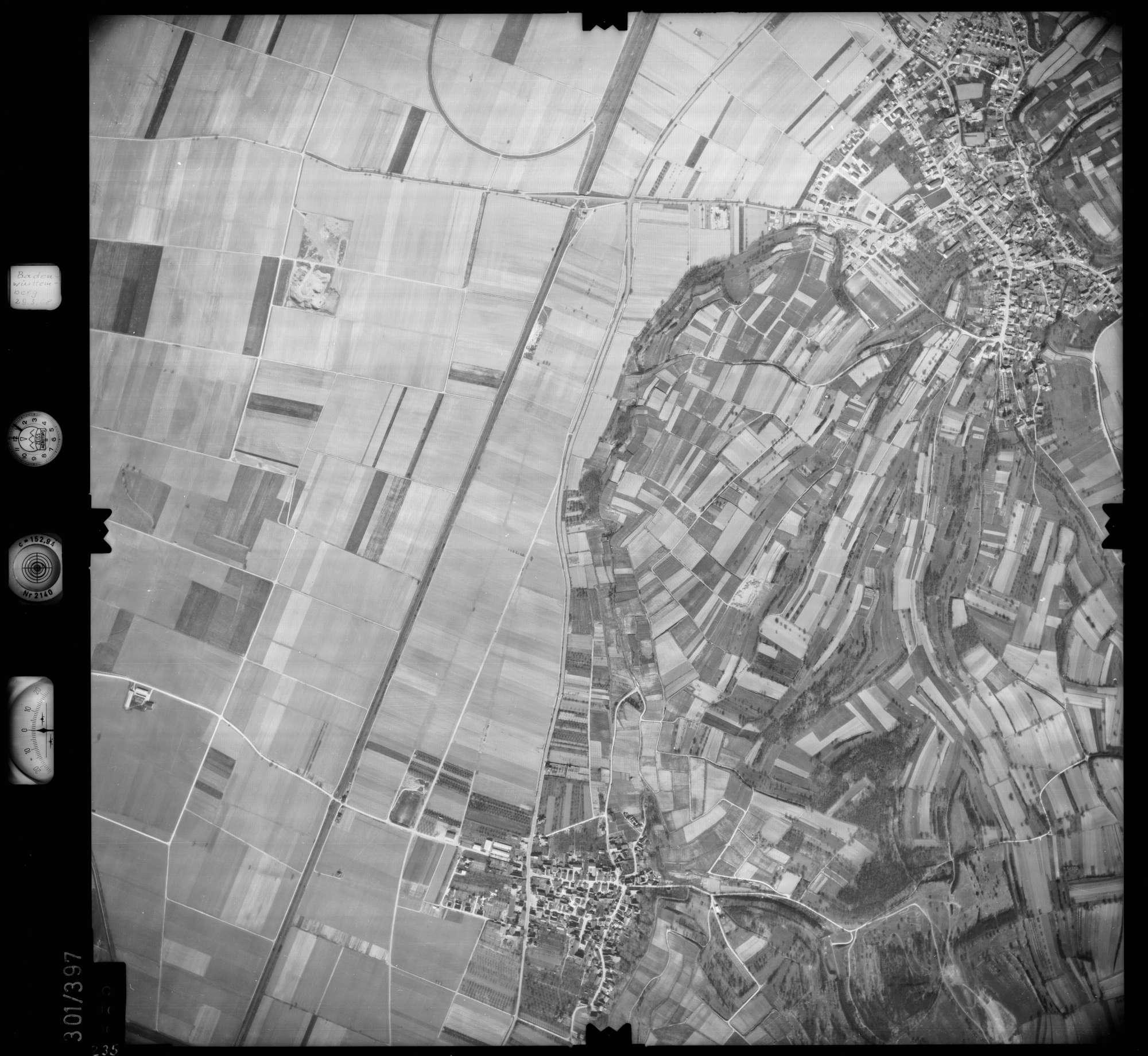 Luftbild: Film 54 Bildnr. 235, Bild 1
