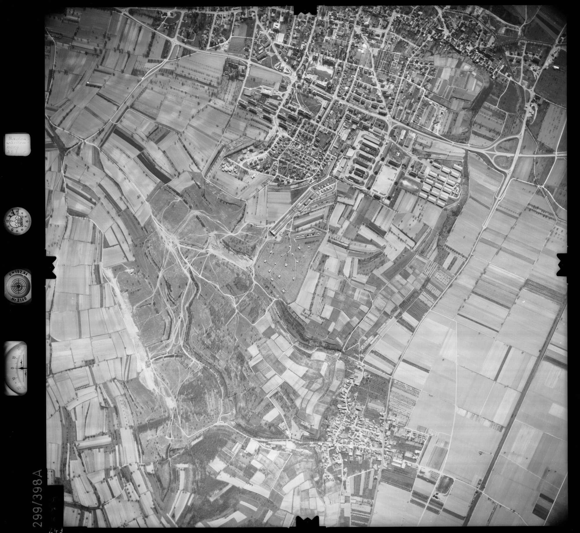 Luftbild: Film 54 Bildnr. 249, Bild 1