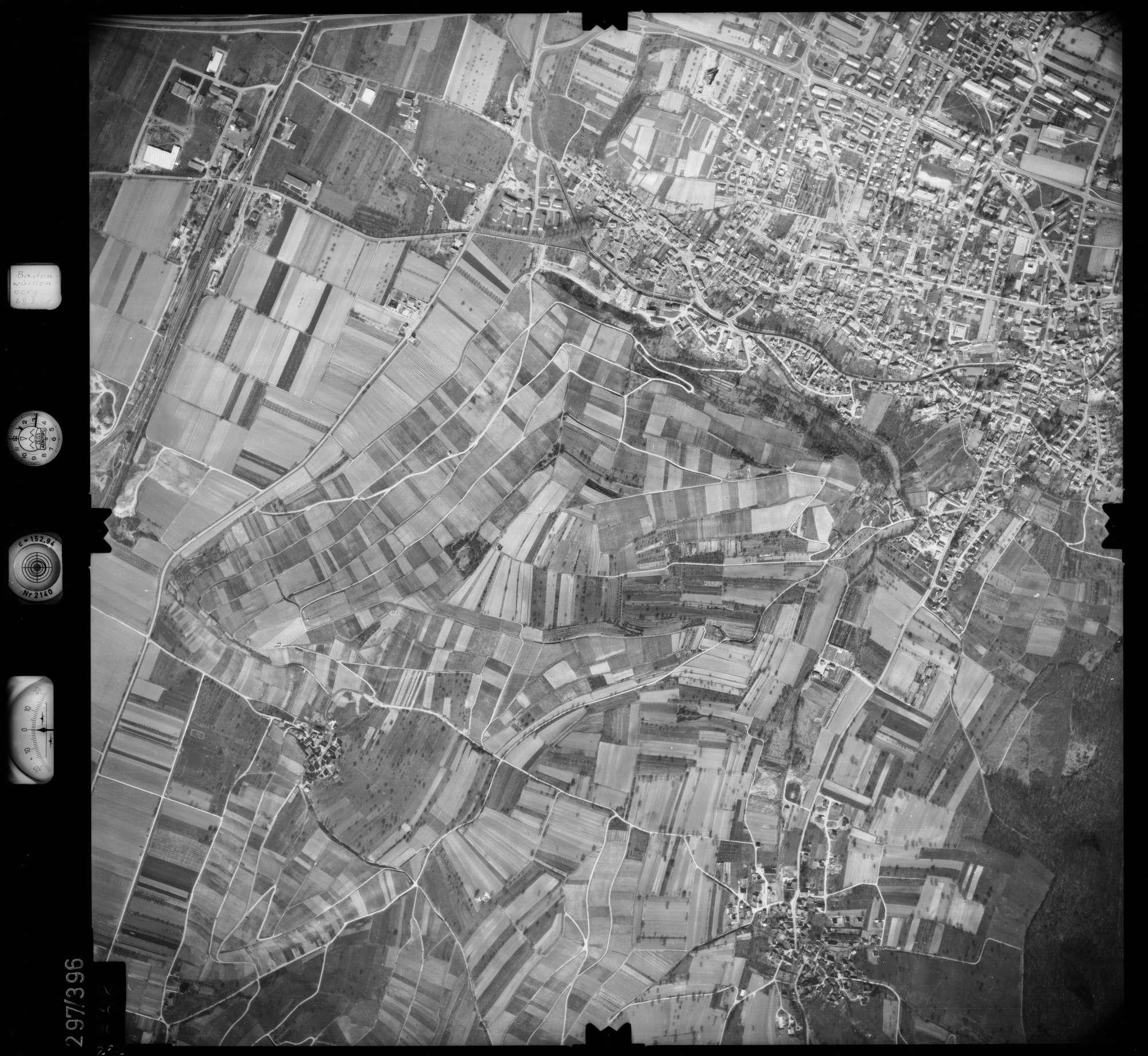 Luftbild: Film 54 Bildnr. 262, Bild 1