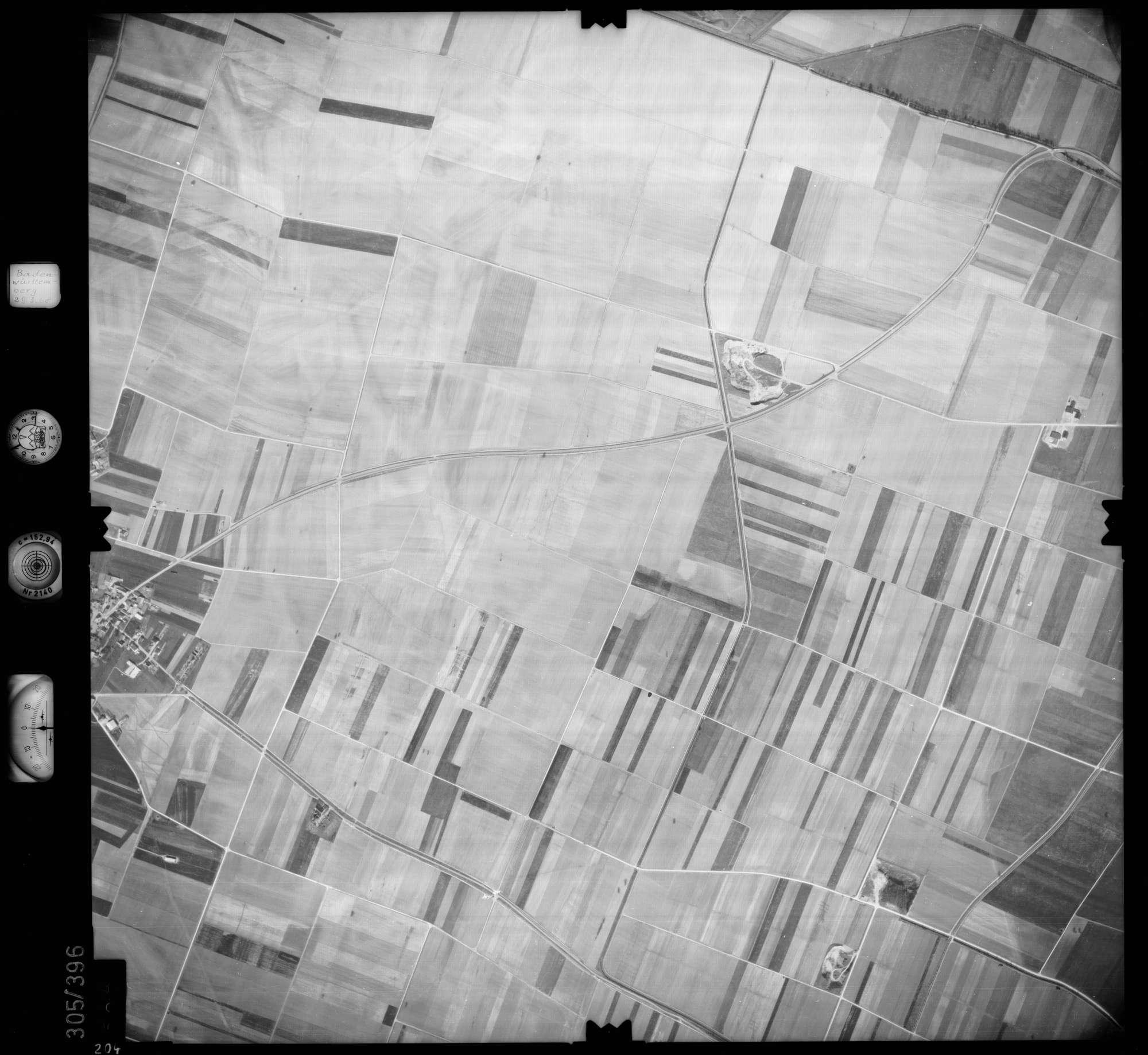Luftbild: Film 54 Bildnr. 204, Bild 1