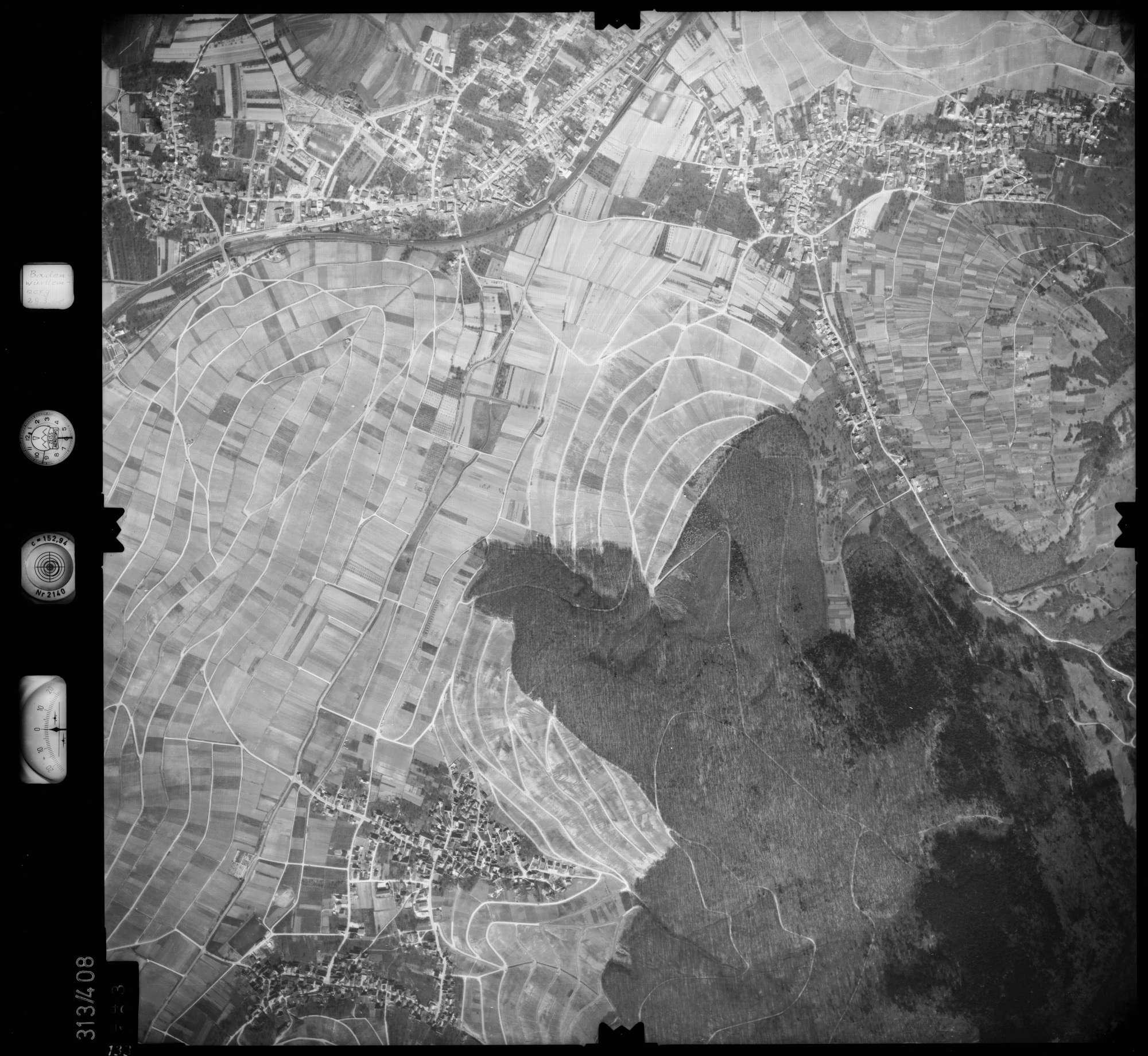 Luftbild: Film 54 Bildnr. 133, Bild 1