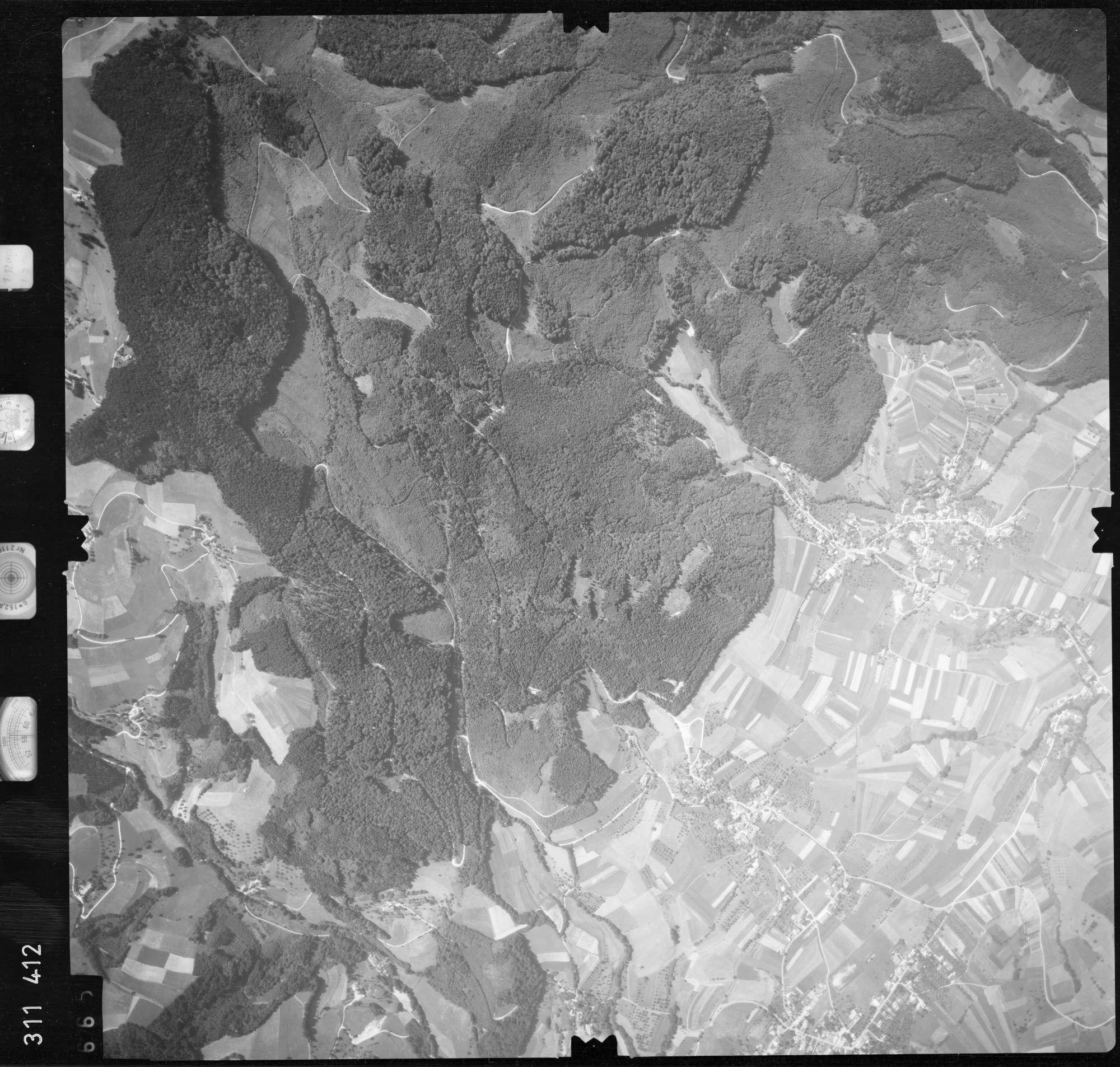 Luftbild: Film 56 Bildnr. 665, Bild 1