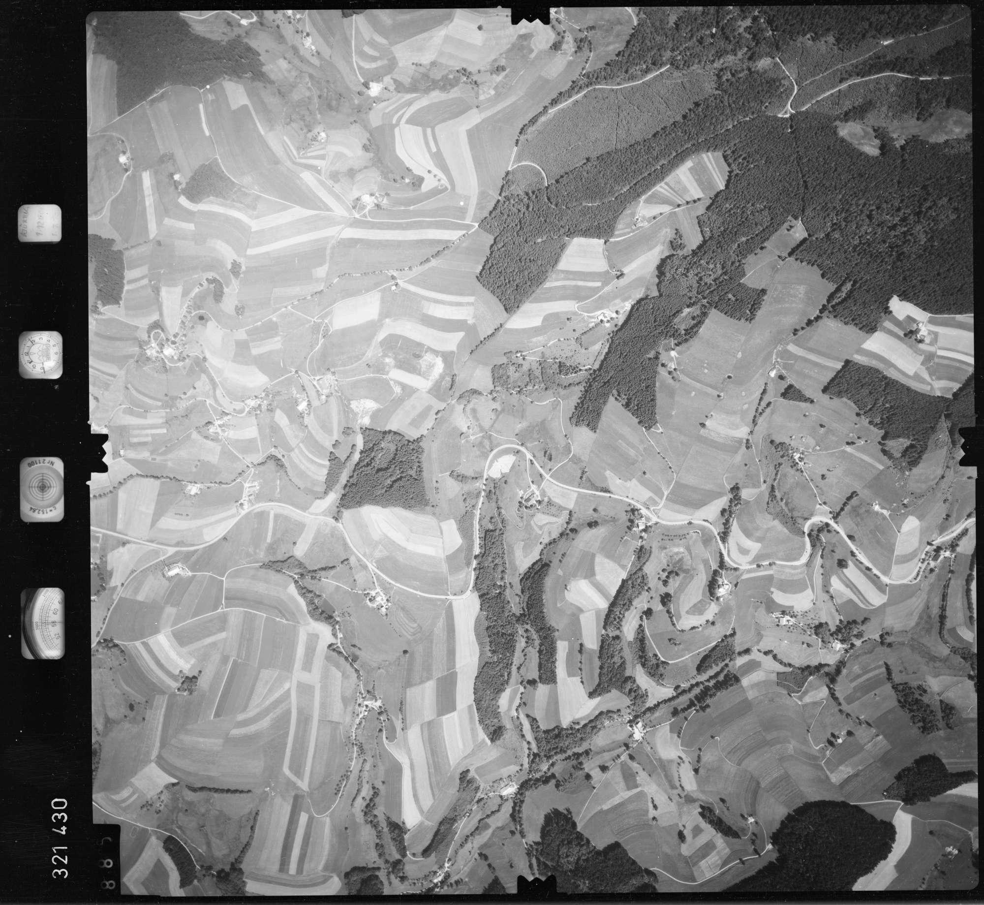 Luftbild: Film 55 Bildnr. 885, Bild 1