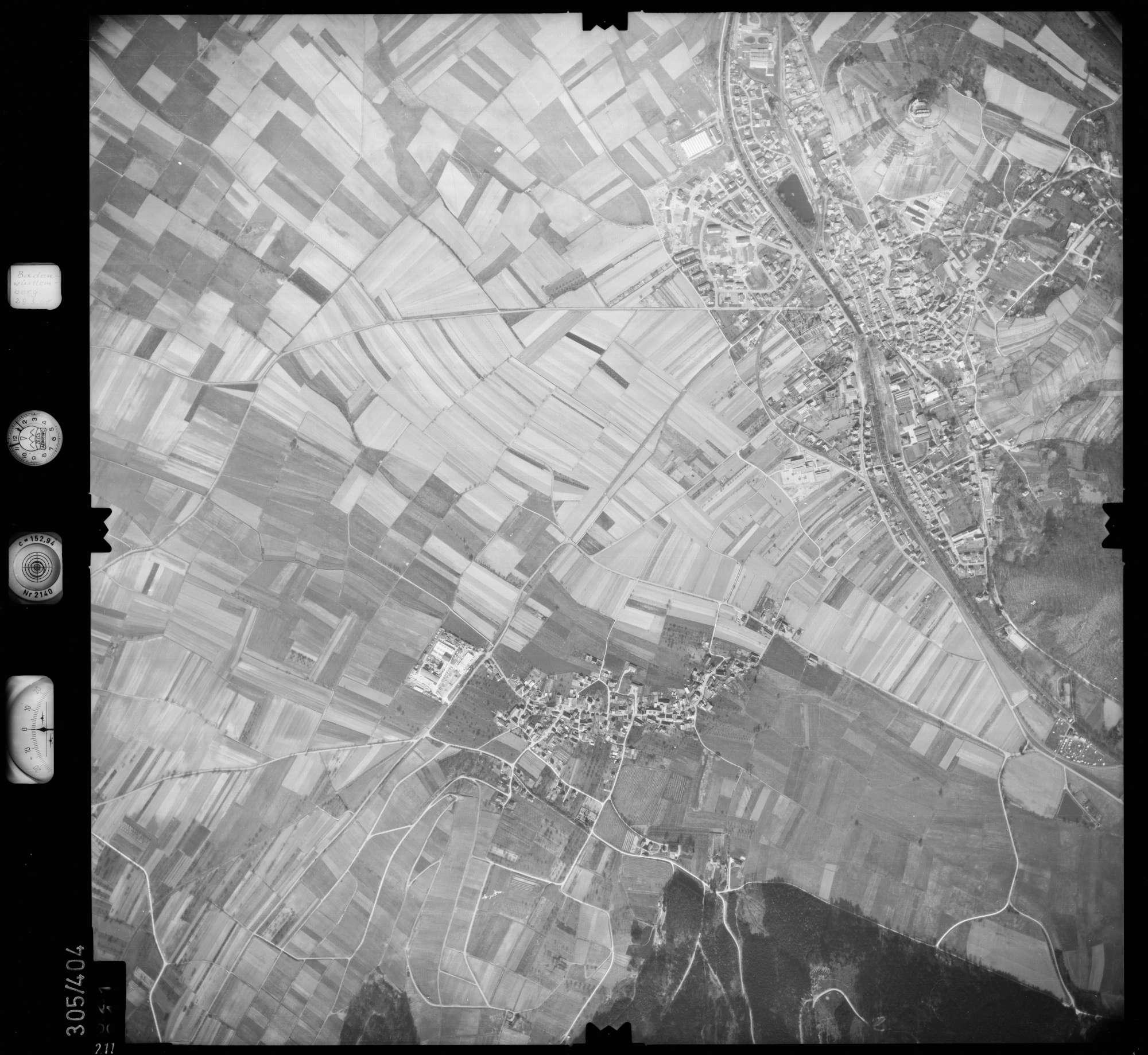 Luftbild: Film 54 Bildnr. 211, Bild 1