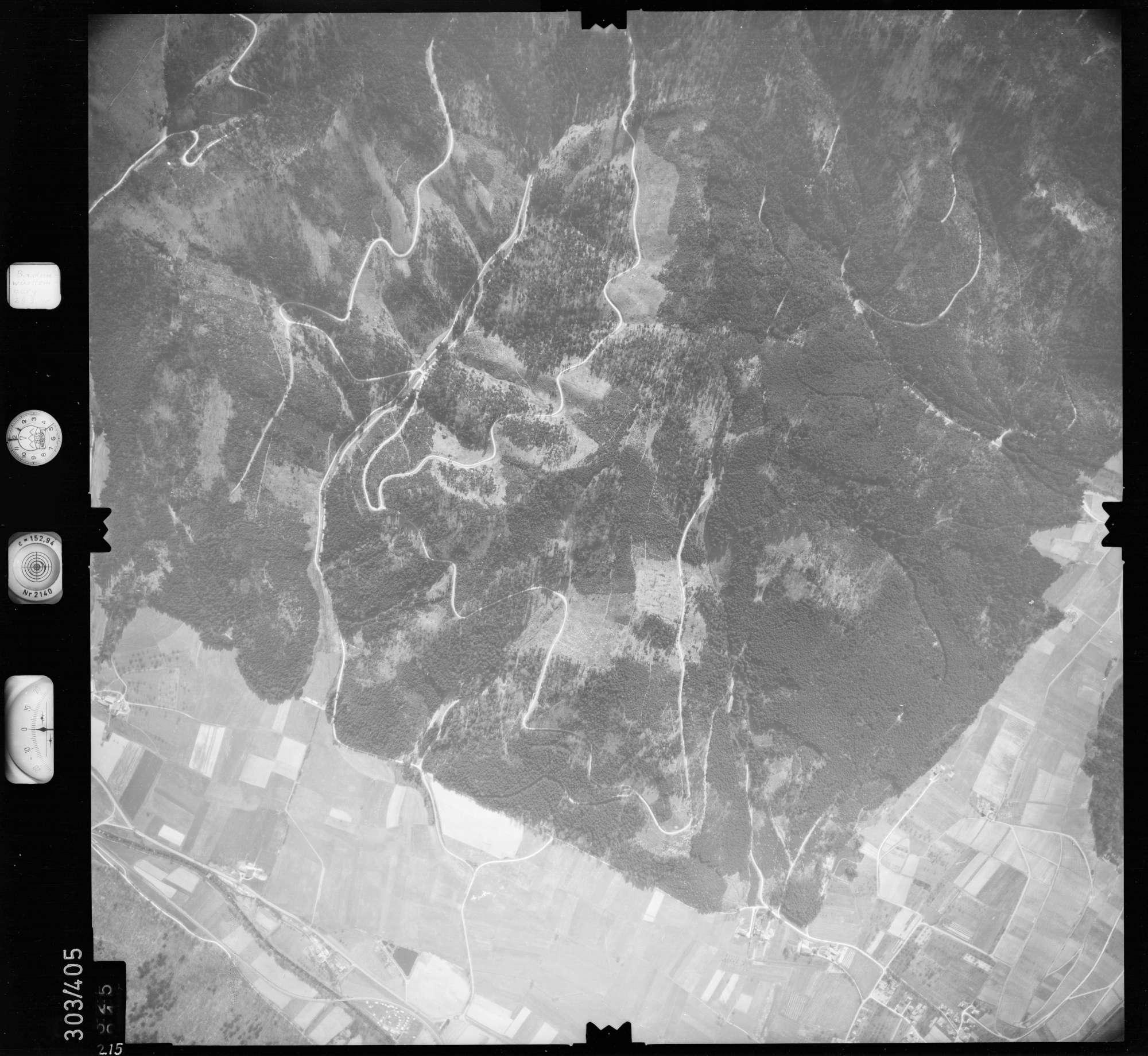 Luftbild: Film 54 Bildnr. 215, Bild 1