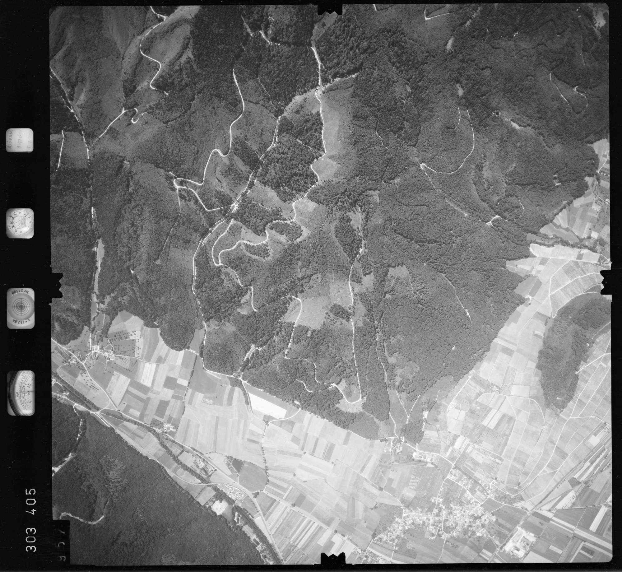 Luftbild: Film 55 Bildnr. 957, Bild 1