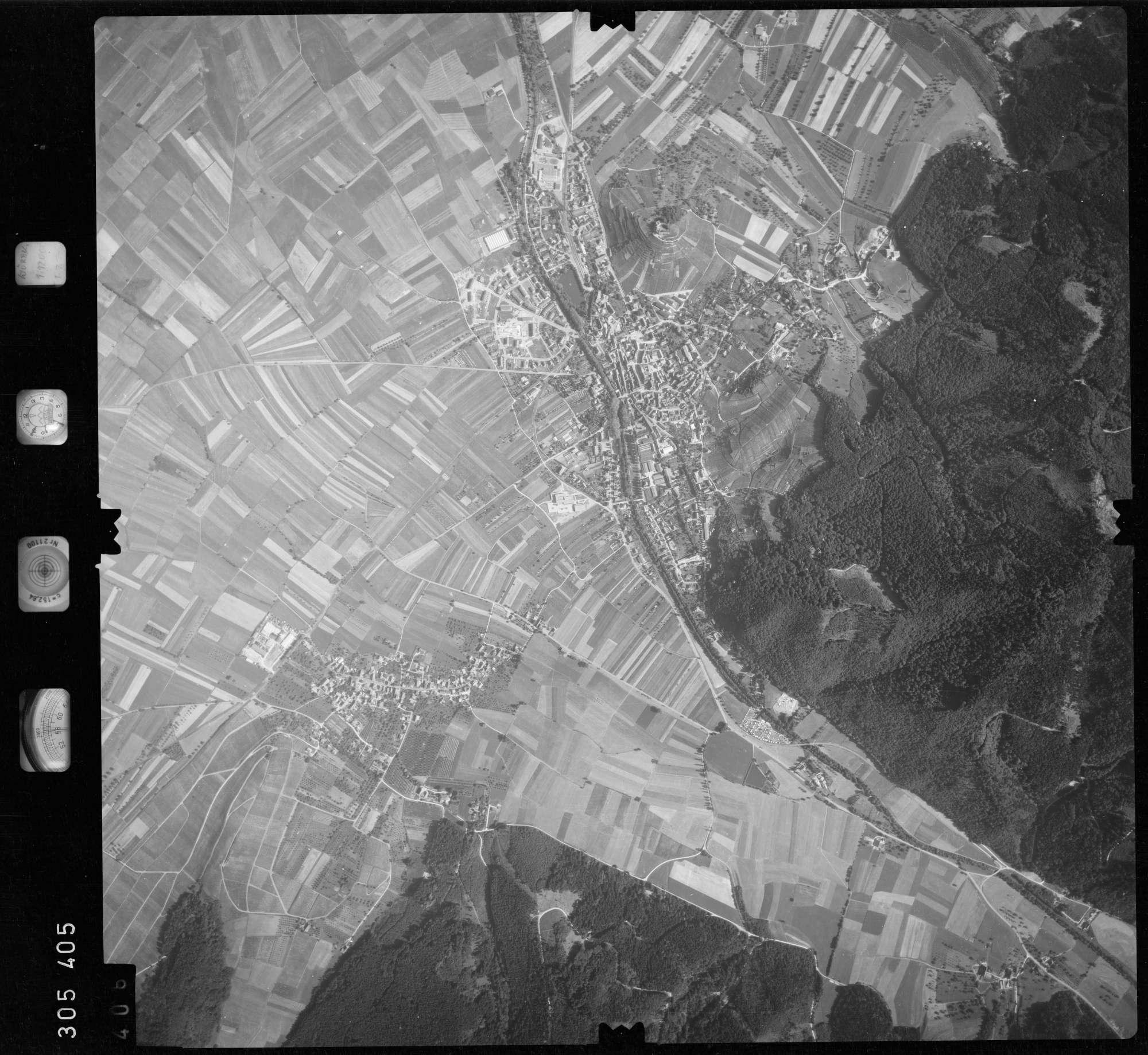 Luftbild: Film 60 Bildnr. 406, Bild 1