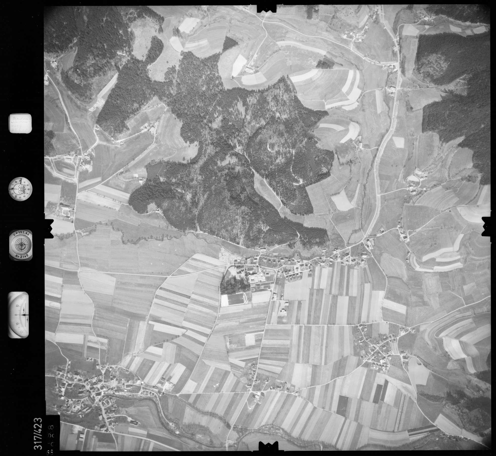 Luftbild: Film 54 Bildnr. 88, Bild 1