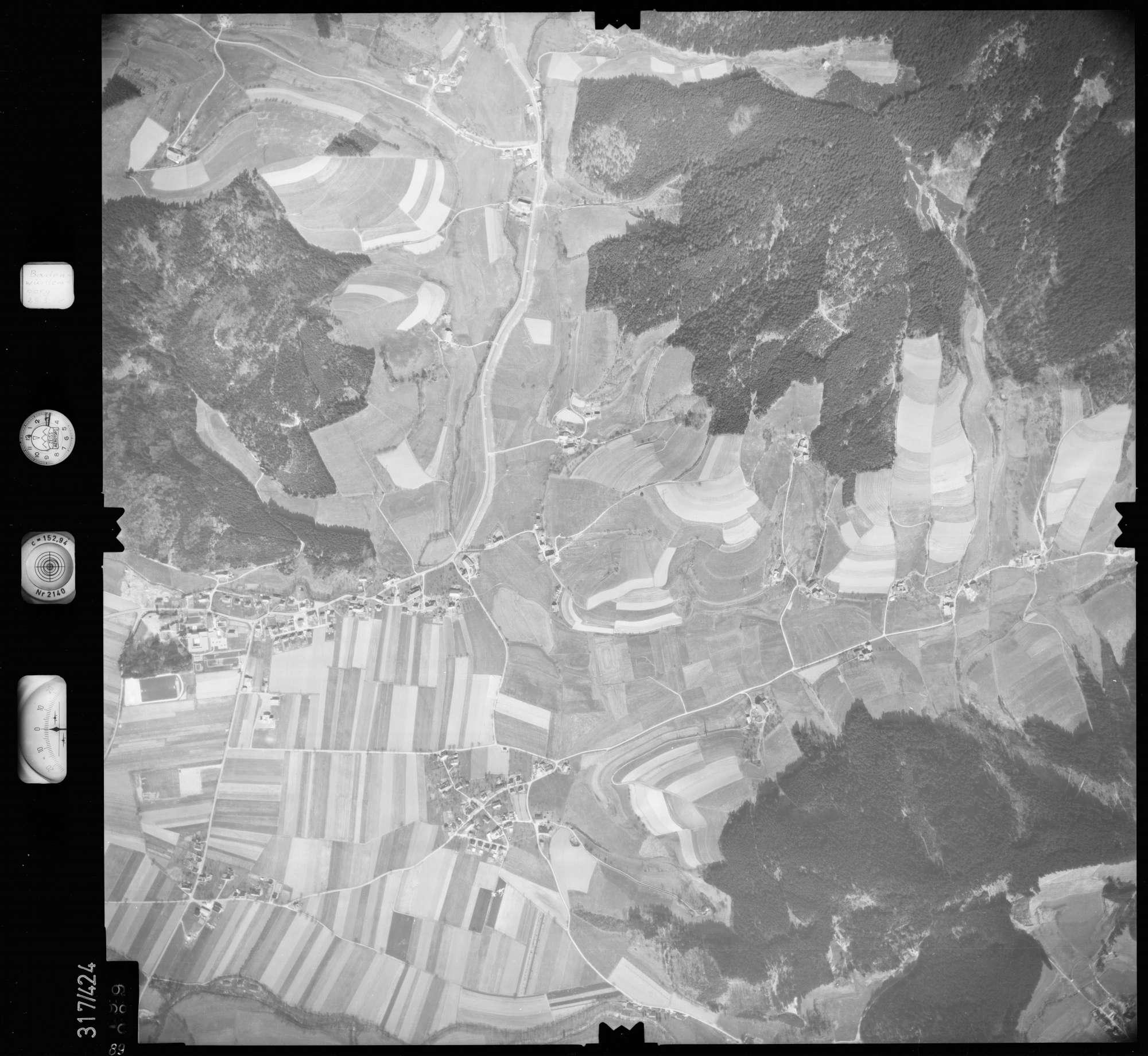 Luftbild: Film 54 Bildnr. 89, Bild 1